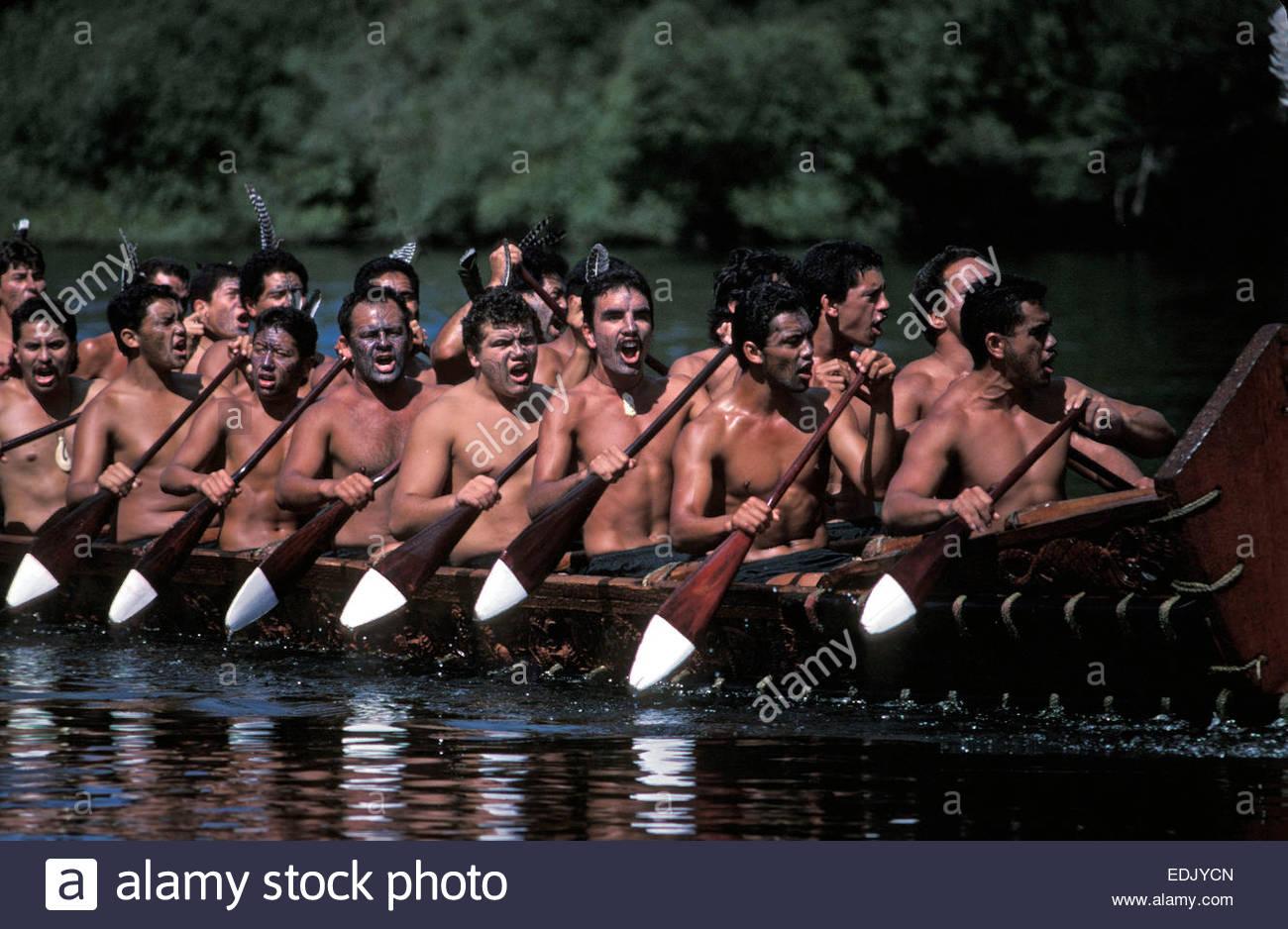 Ngaruawahia river regatta, Ngaruawahia, North Island, New Zealand. - Stock Image