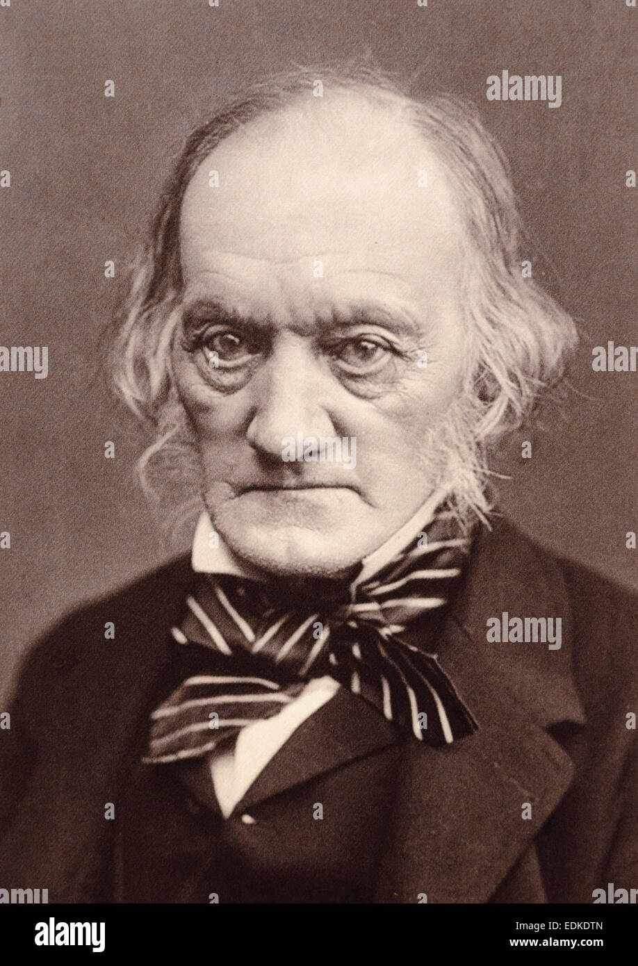 Sir Richard Owen, 1804 – 1892.  English biologist, comparative anatomist and paleontologist. - Stock Image