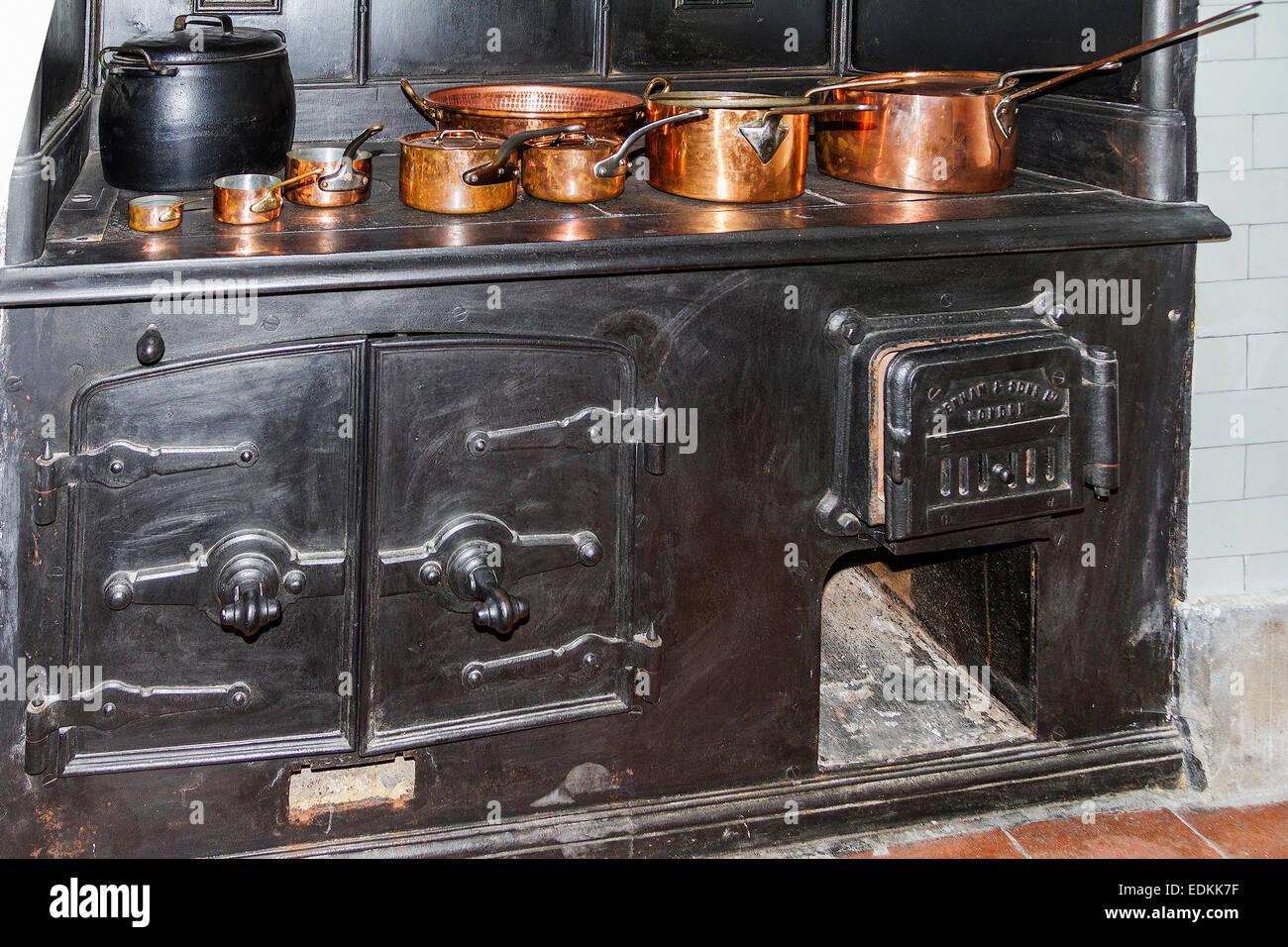 Victorian Cooking Range Stock Photo 77264195 Alamy