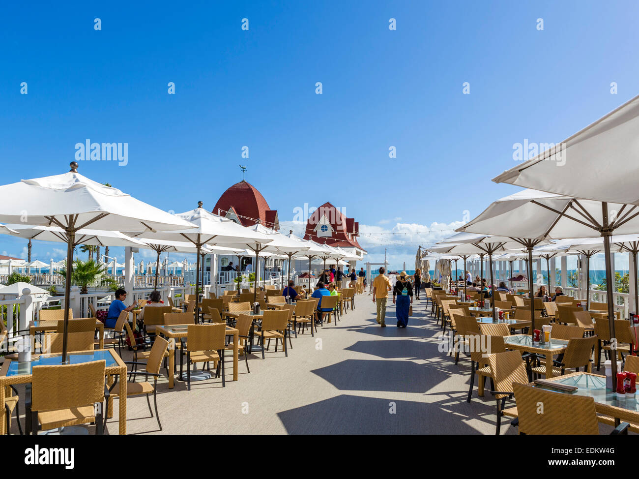 Pool Bar And Restaurant At The Hotel Del Coronado