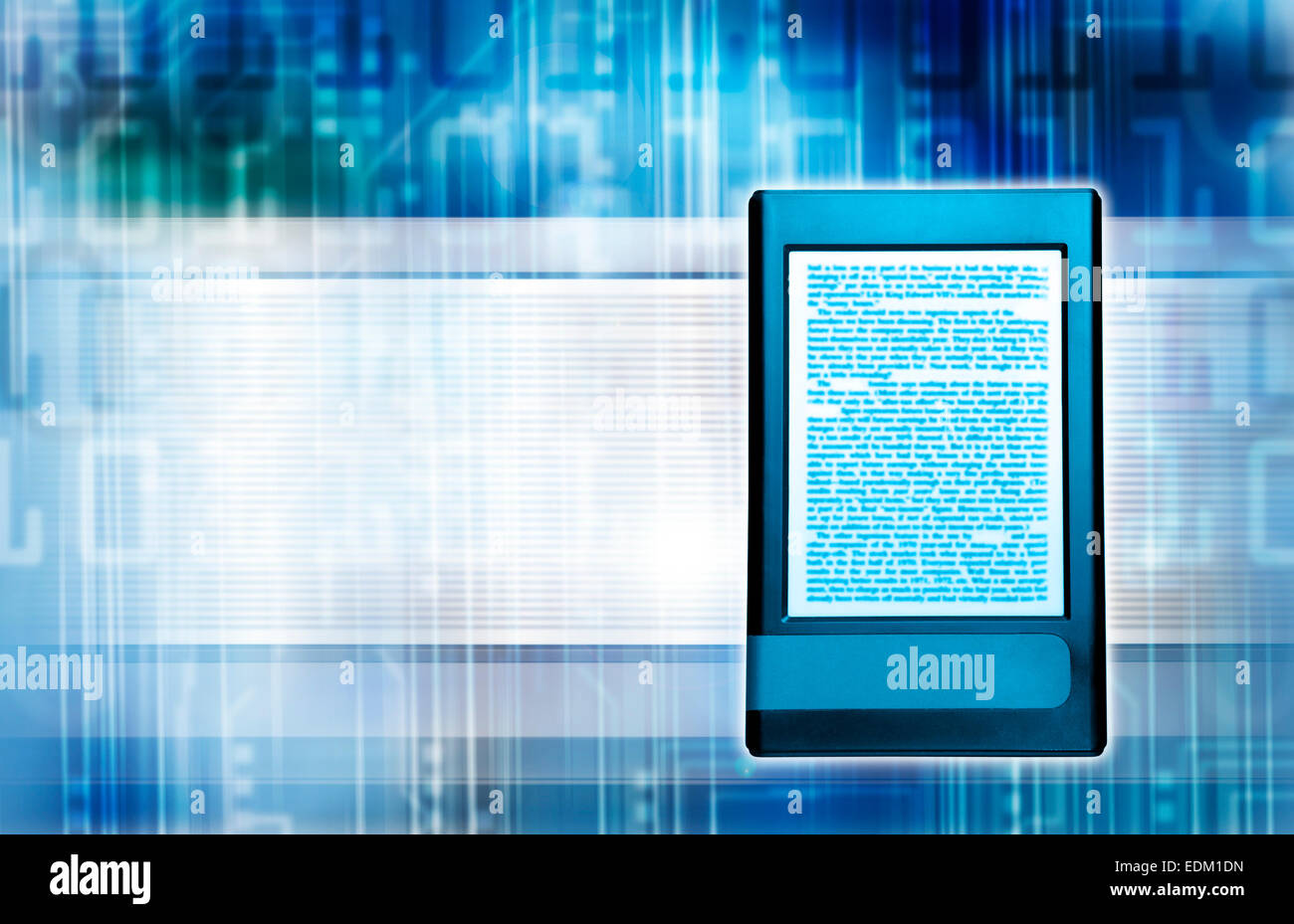 e-book concept - Stock Image
