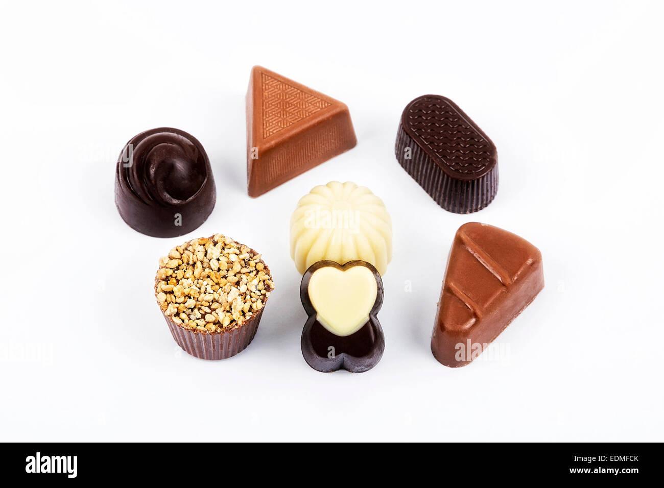 Chocolates - Stock Image