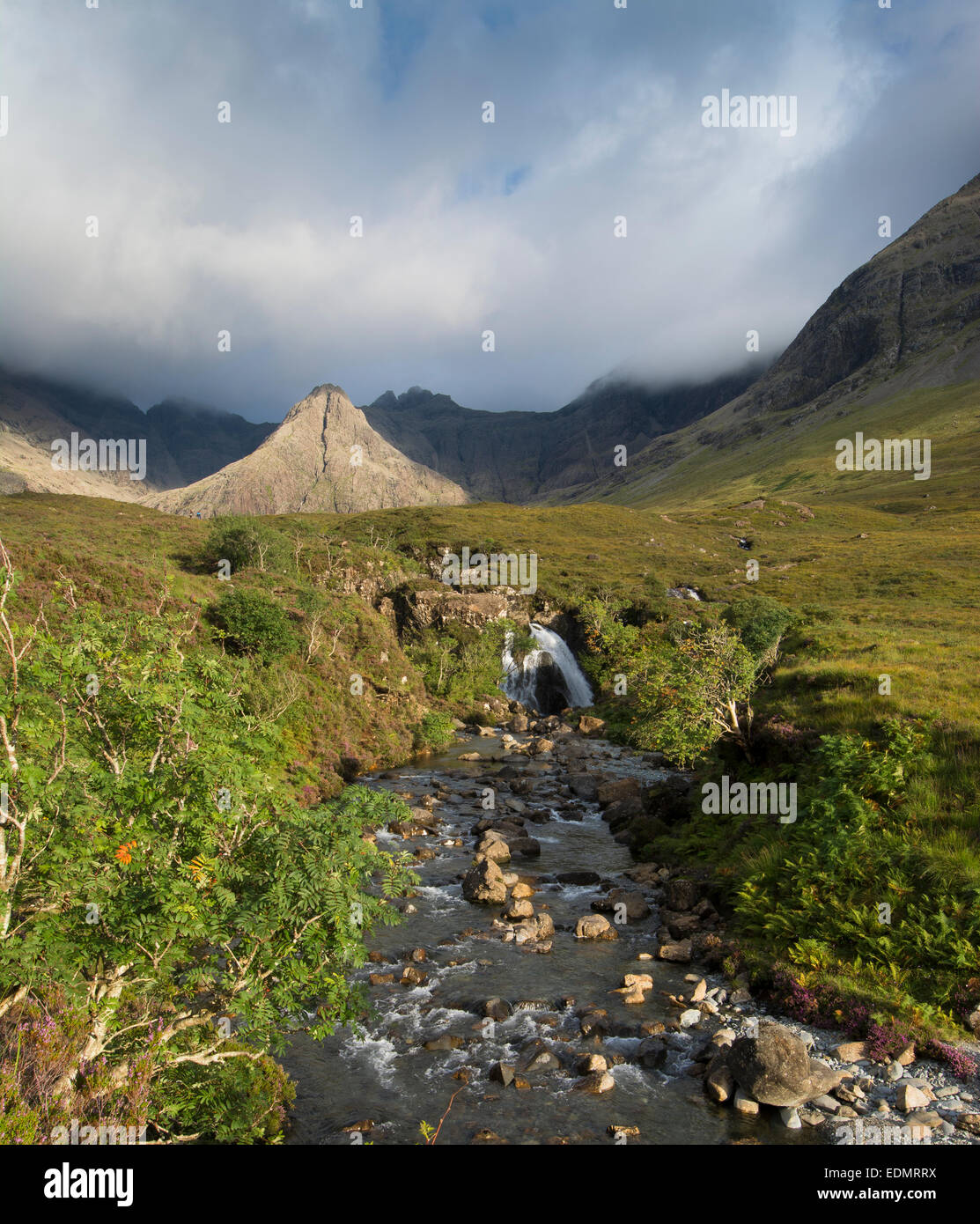 the fairy pools glen brittle isle of skye - Stock Image