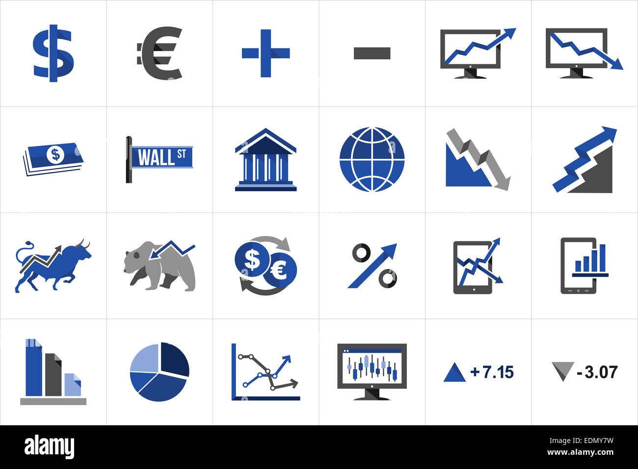 Bear Market Icon Symbol Vector Stock Photos Bear Market Icon