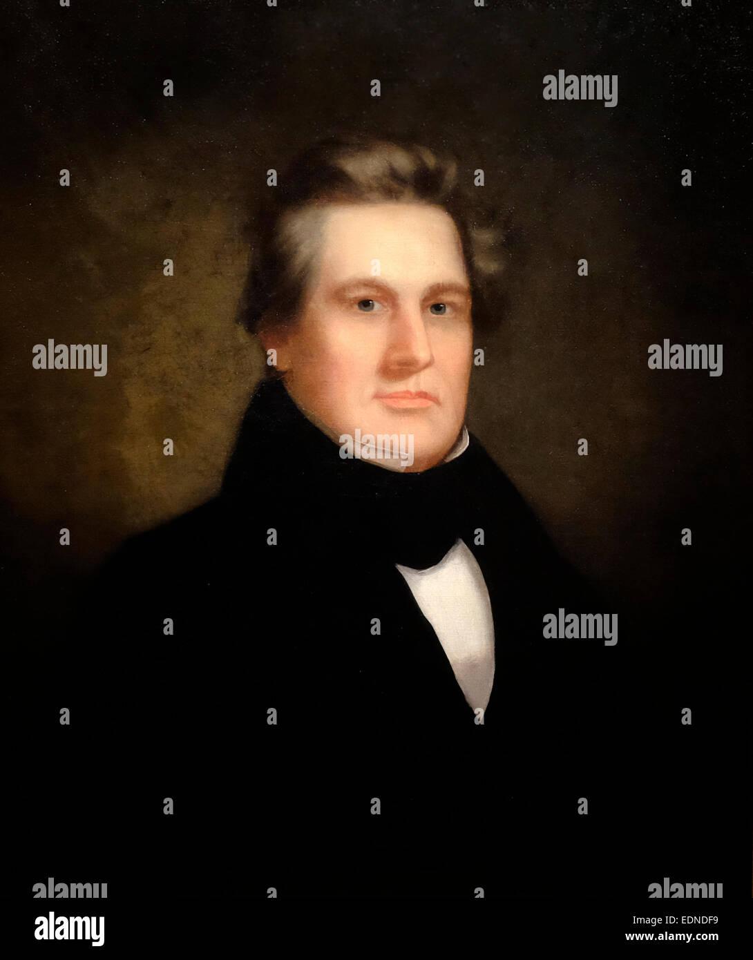 President Millard Fillmore - Unidentified artist, circa 1843 - Stock Image