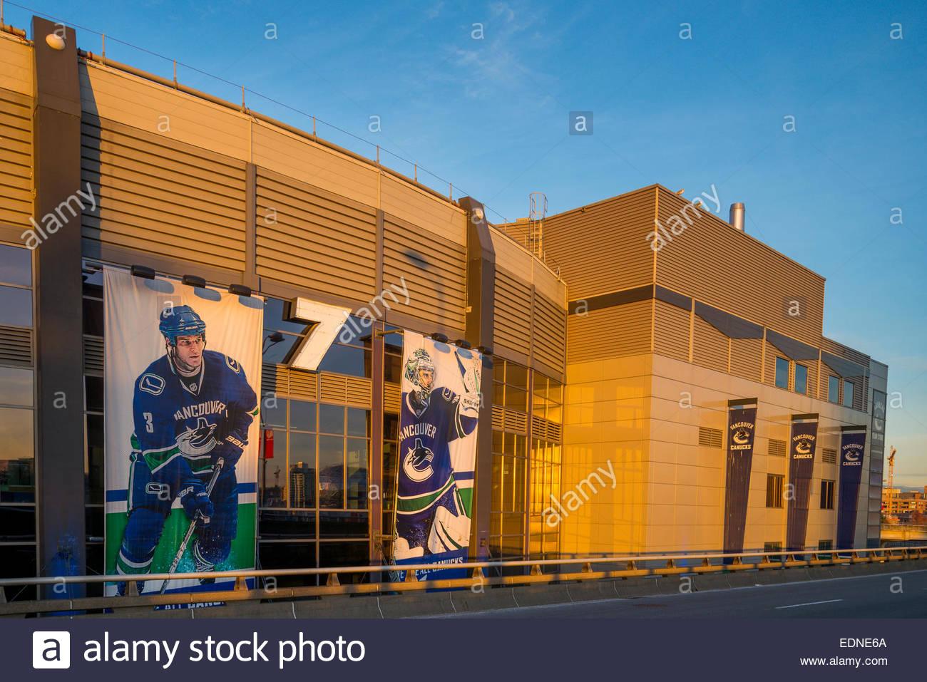 Roger's Arena Vancouver, British Columbia, Canada, - Stock Image