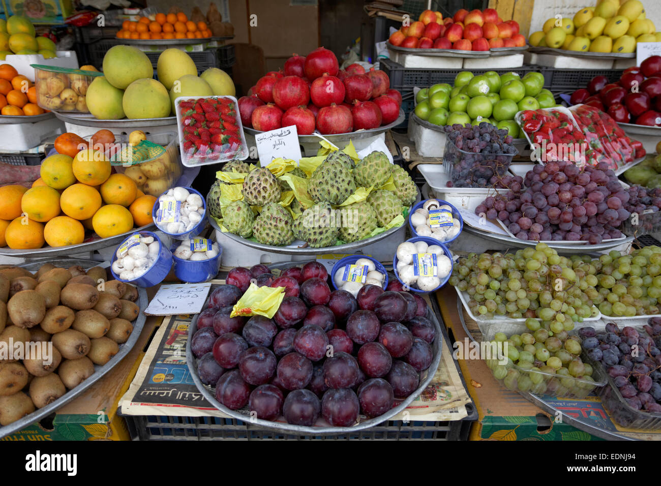 e94af614585bd7 Fruit stall in the fruit market