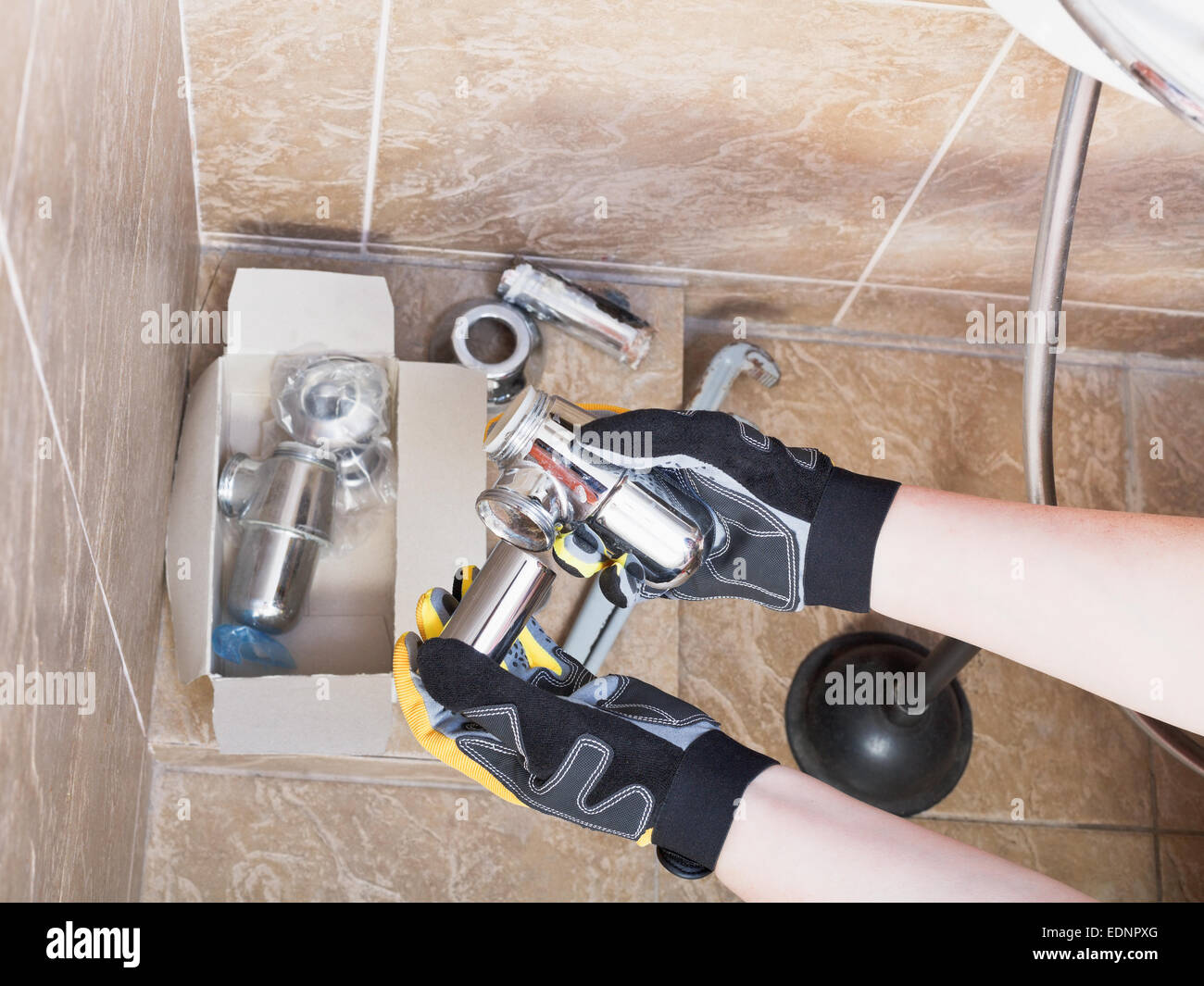 Waste Water Trap Stock Photos & Waste Water Trap Stock Images - Alamy