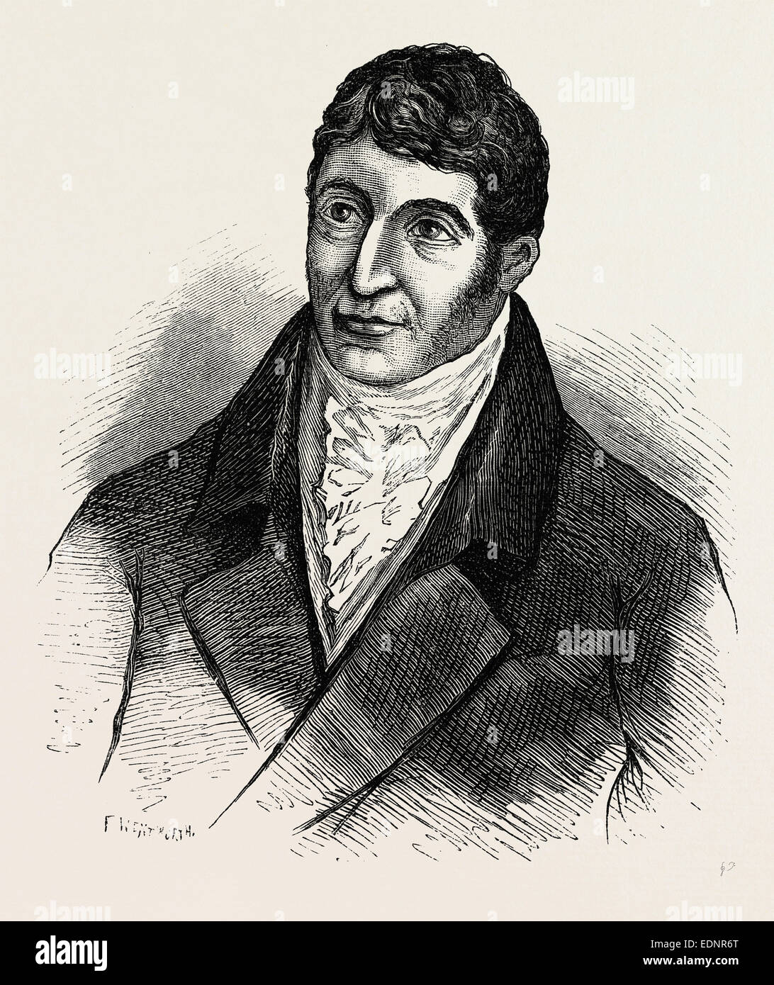 Alderman Waithman,  London, UK, 19th century - Stock Image