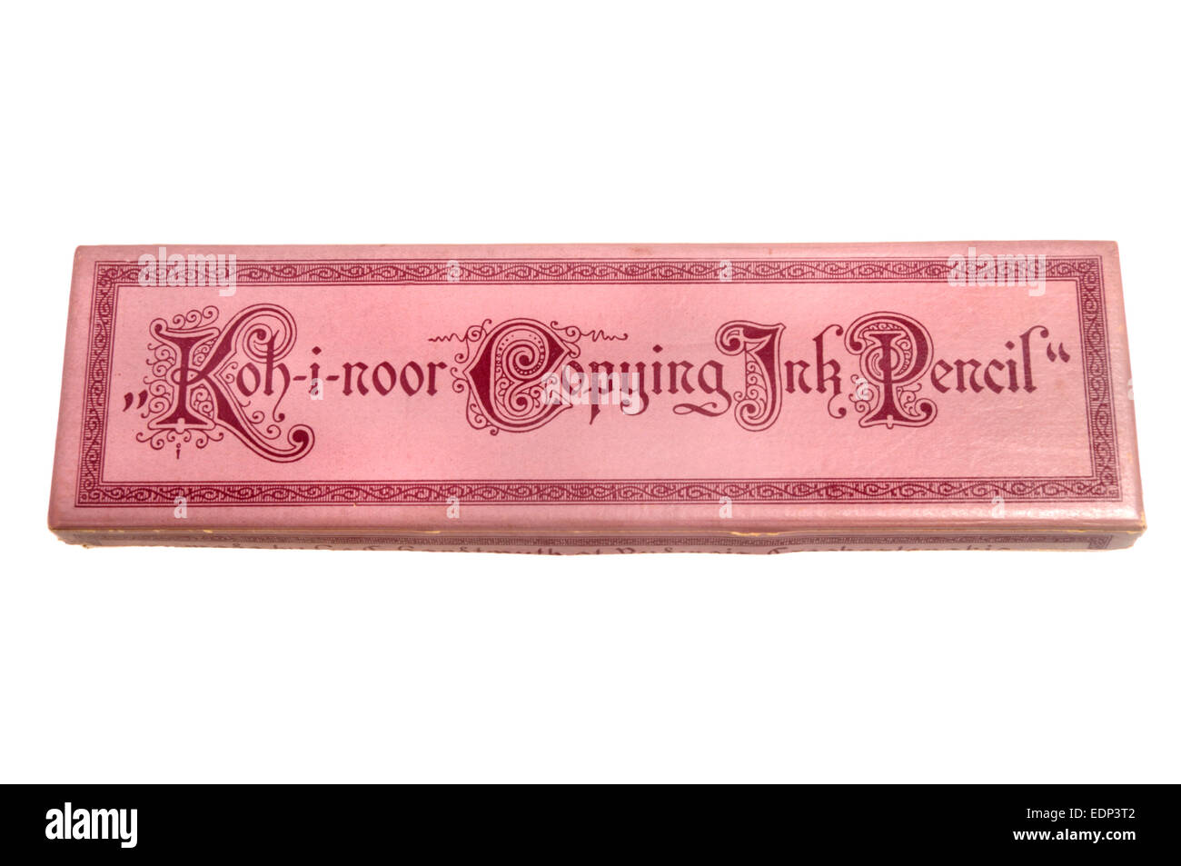Box of Koh-i-noor Copying Ink Pencils made by L & C Hardtmuth, Czechoslovakia, 1970s - Stock Image