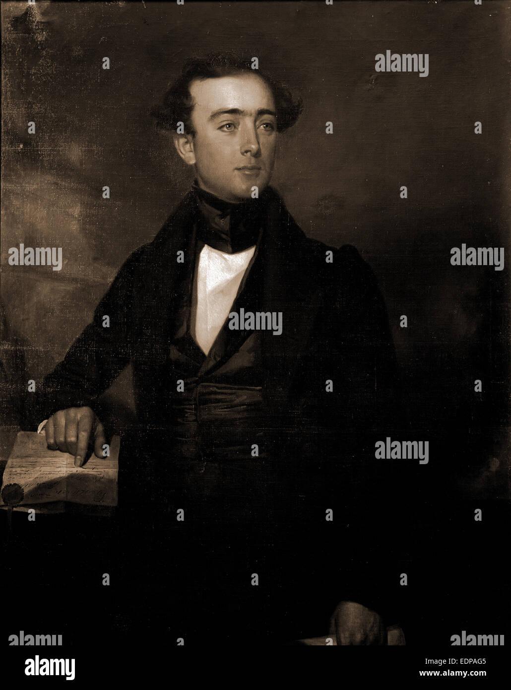 Stevens Thomson Mason, Mason, Stevens Thomson, 1811-1843, 1900 - Stock Image