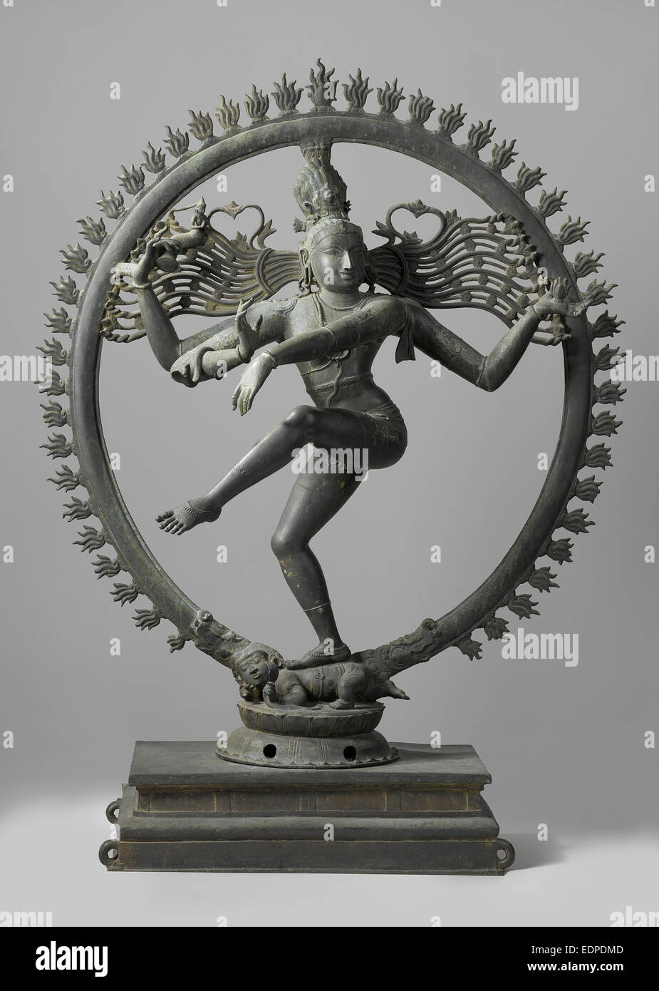 Shiva Nataraja, Anonymous, 1100 - 1200 - Stock Image
