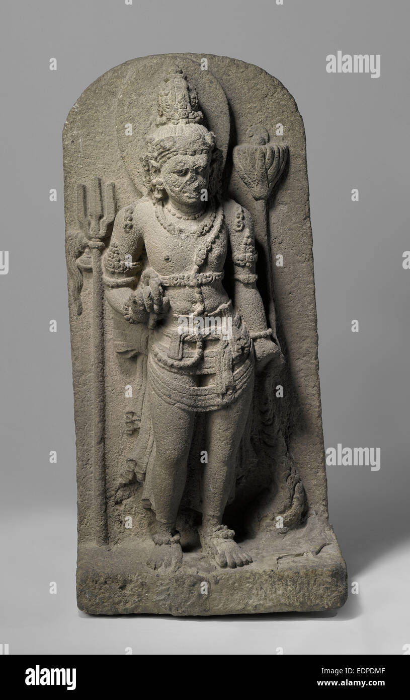 Nandishvara sculpture, Anonymous, 800 - 900 - Stock Image