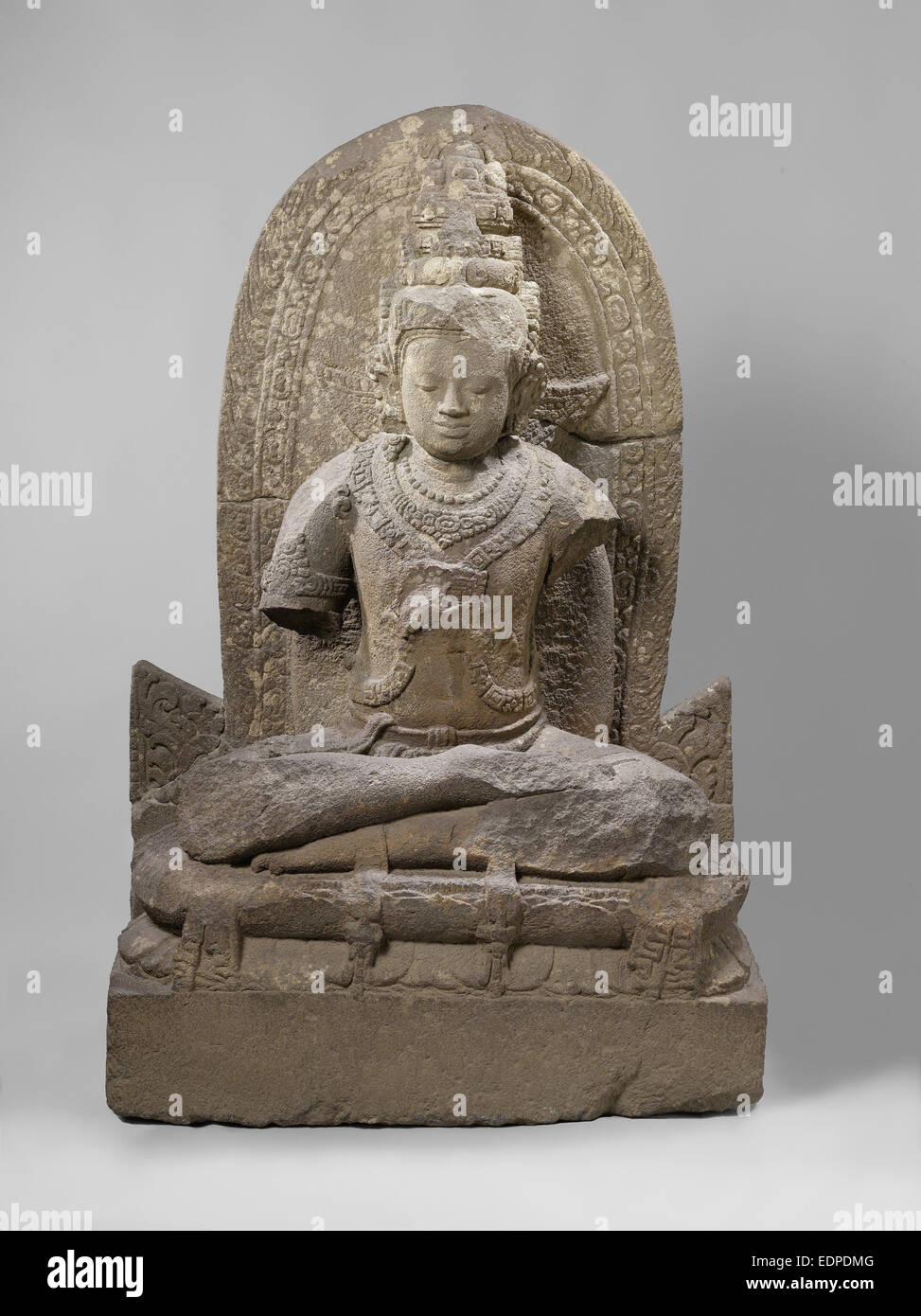 The bodhisattva Manjushri, Anonymous, c. 800 - c. 900 - Stock Image