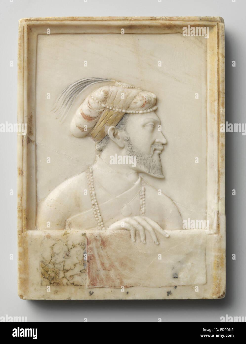 Portrait of Shah Jahan, Anonymous, c. 1625 - c. 1650 - Stock Image