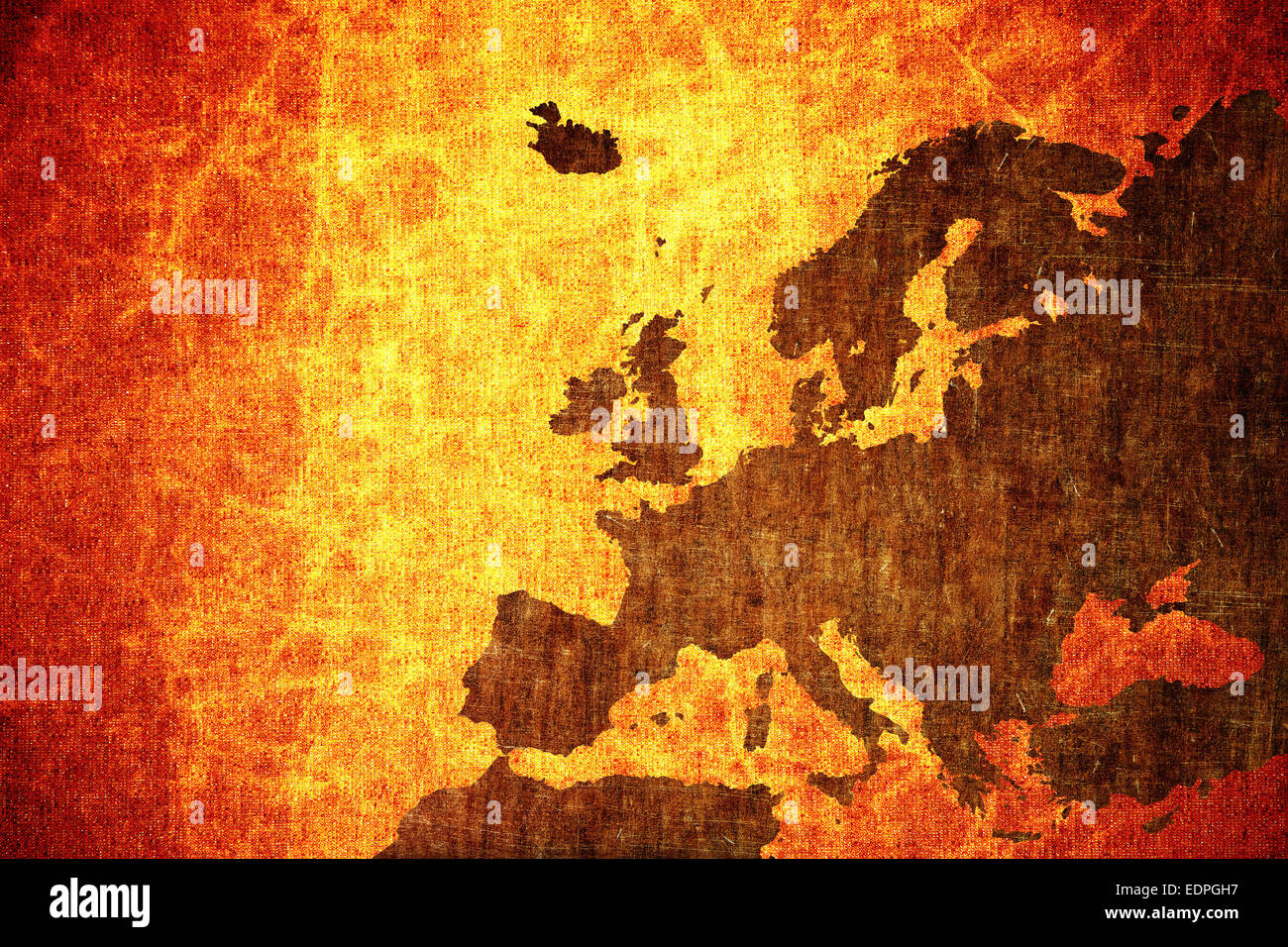 Grunge vintage scratched europe map background stock photo 77327971 grunge vintage scratched europe map background gumiabroncs Choice Image