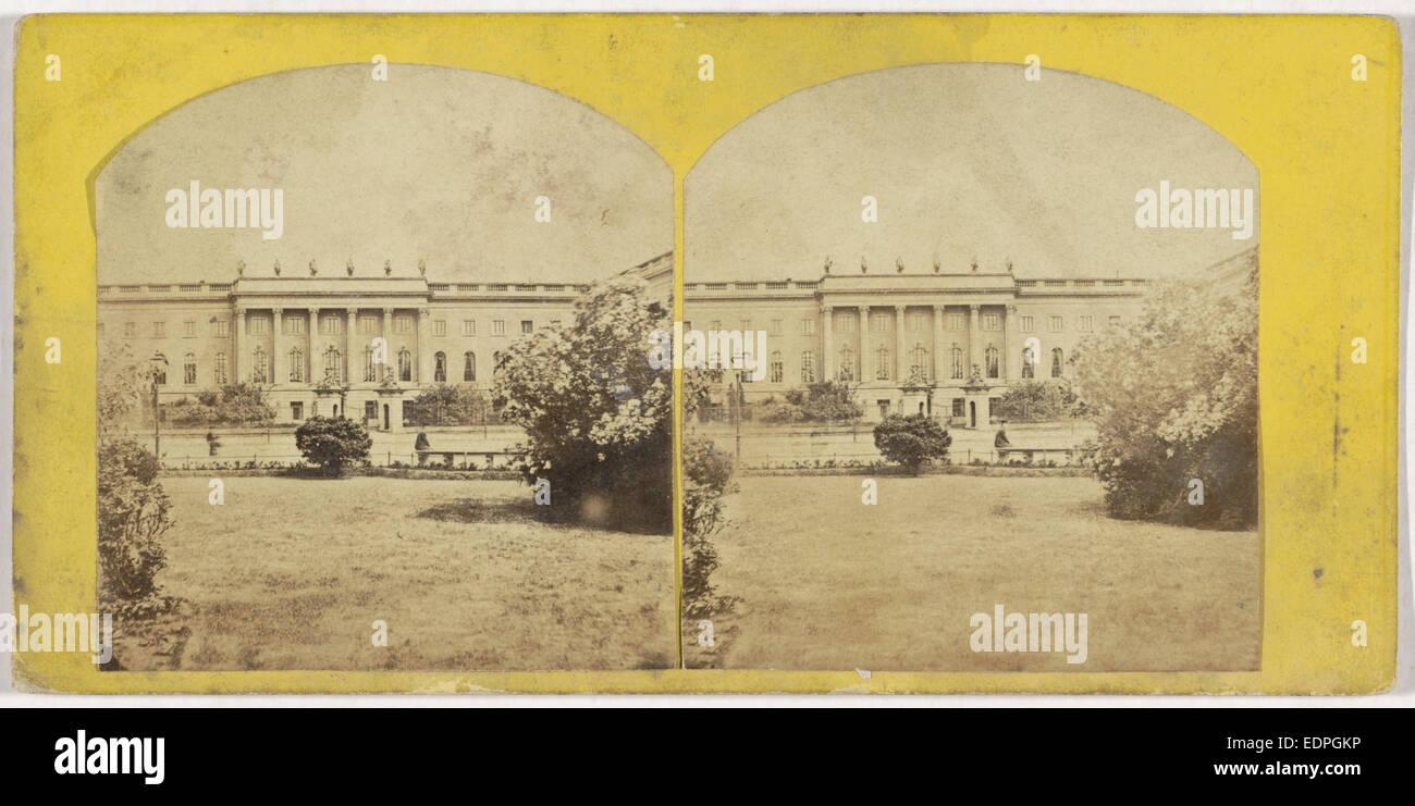 Die Universitat Germany, Moser & Senftner, 1860 - 1870 - Stock Image
