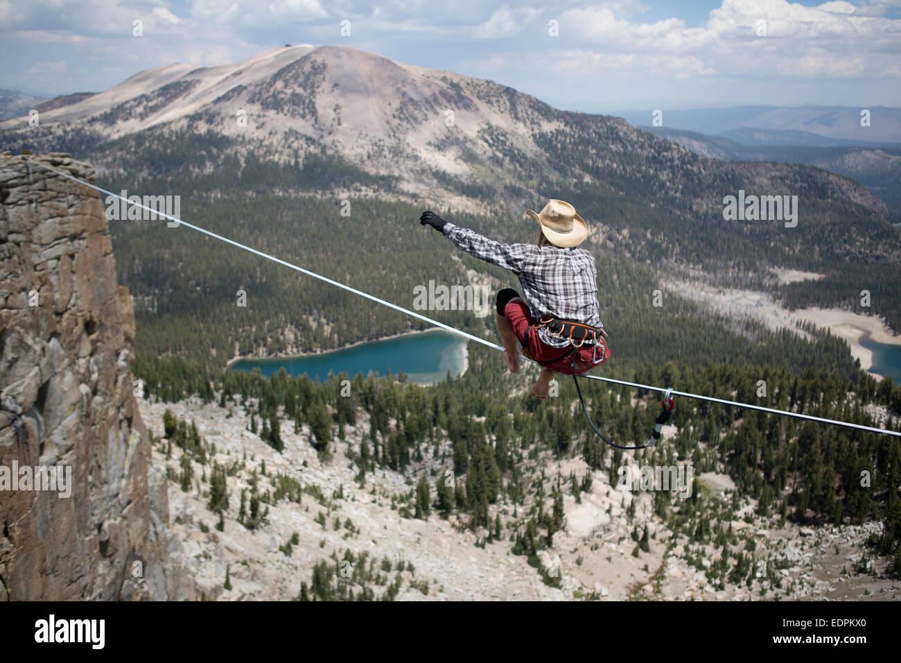 Highline cowboy
