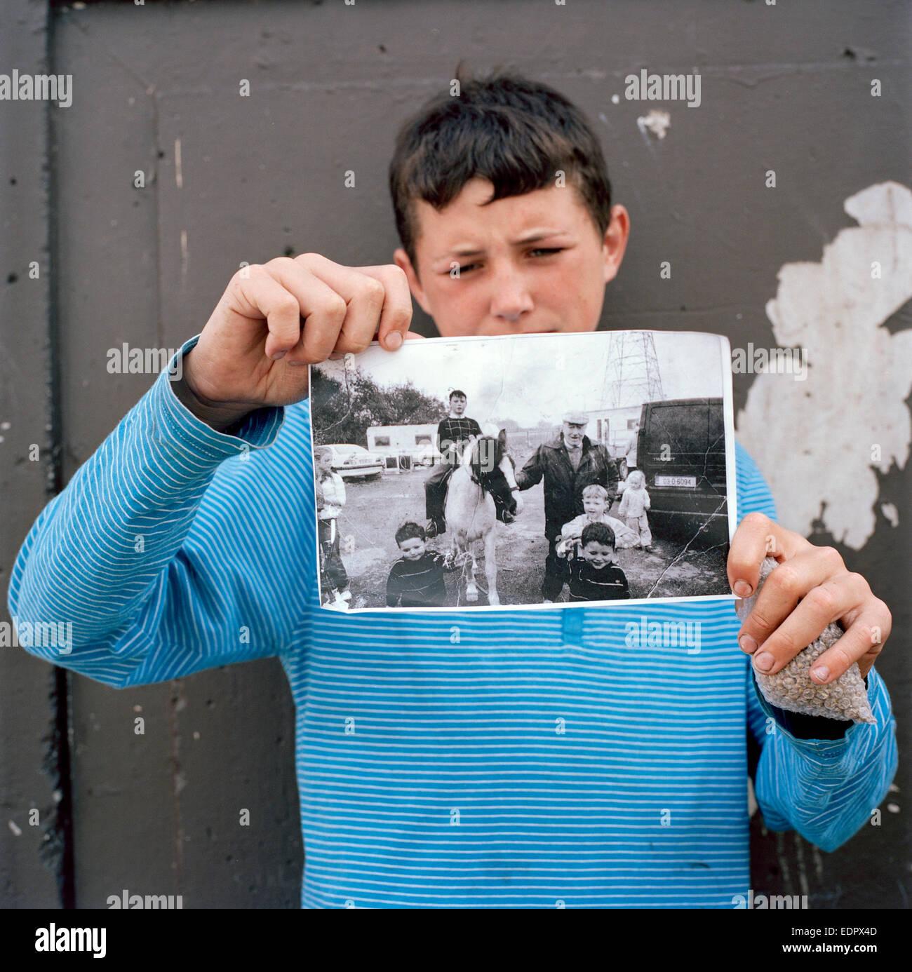 Ballerfermot, co. Dublin, Ireland. August 2013 - Stock Image