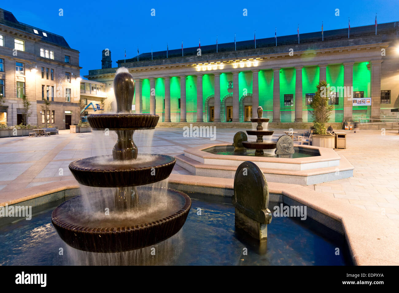 caird hall concert auditorium by james key dundee - Stock Image