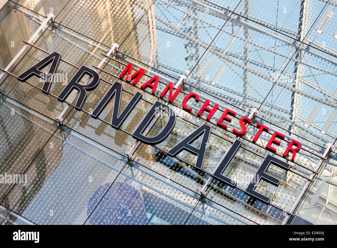 Manchester Arndale - Stock Image