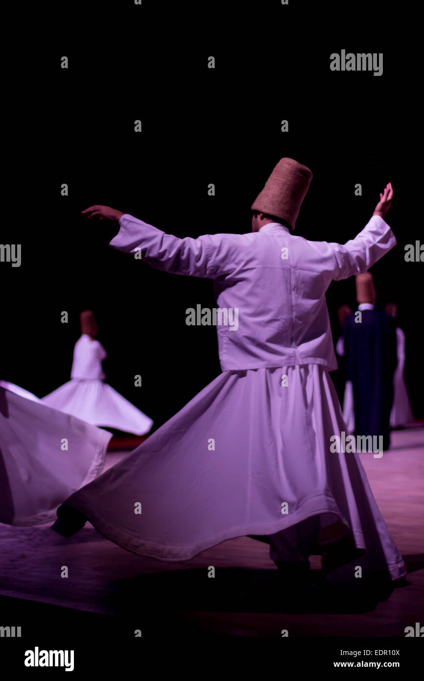 Whirling Dervishes - Stock Image
