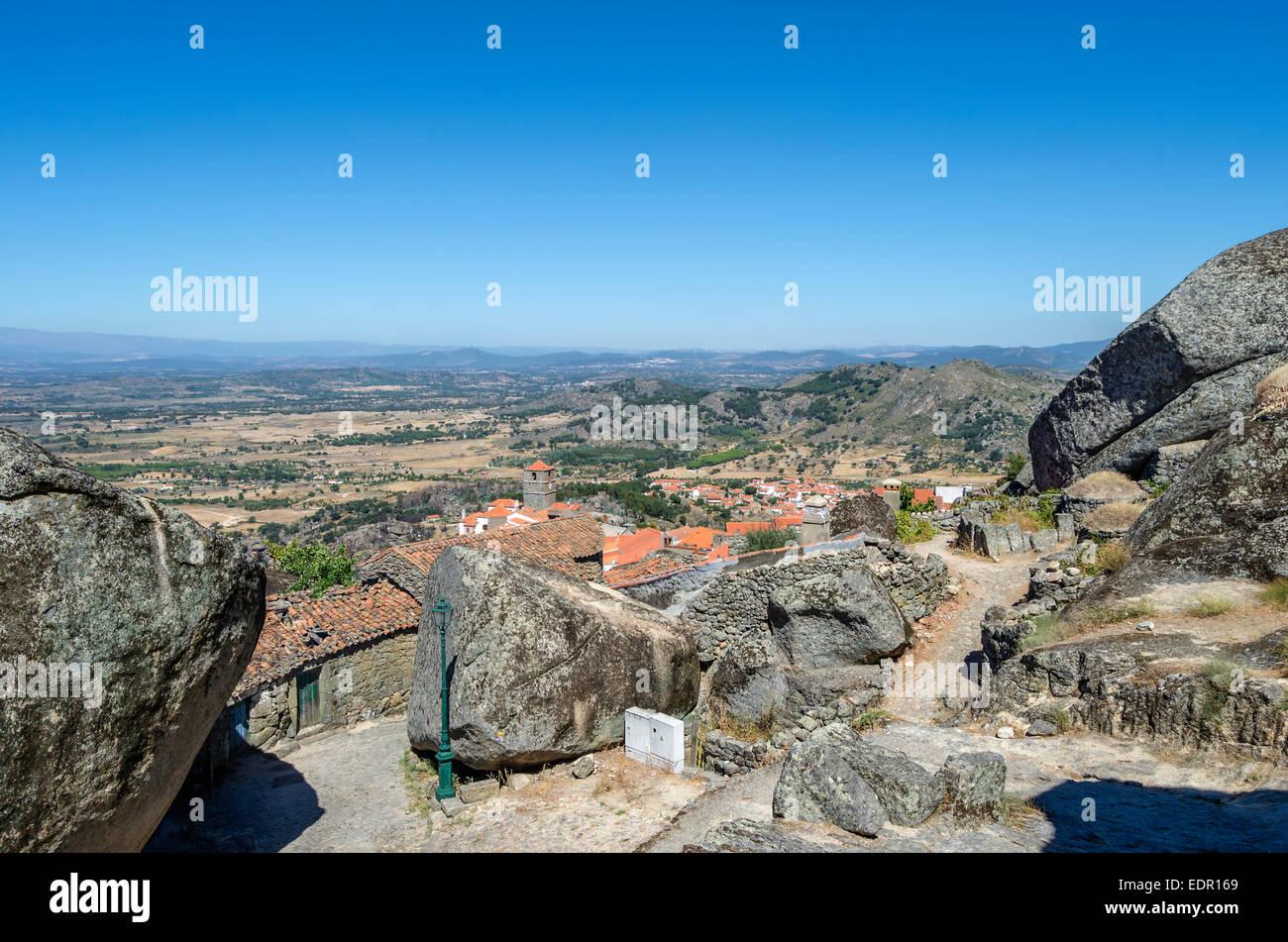 Stone Village, Monsanto, Portugal Stock Photo