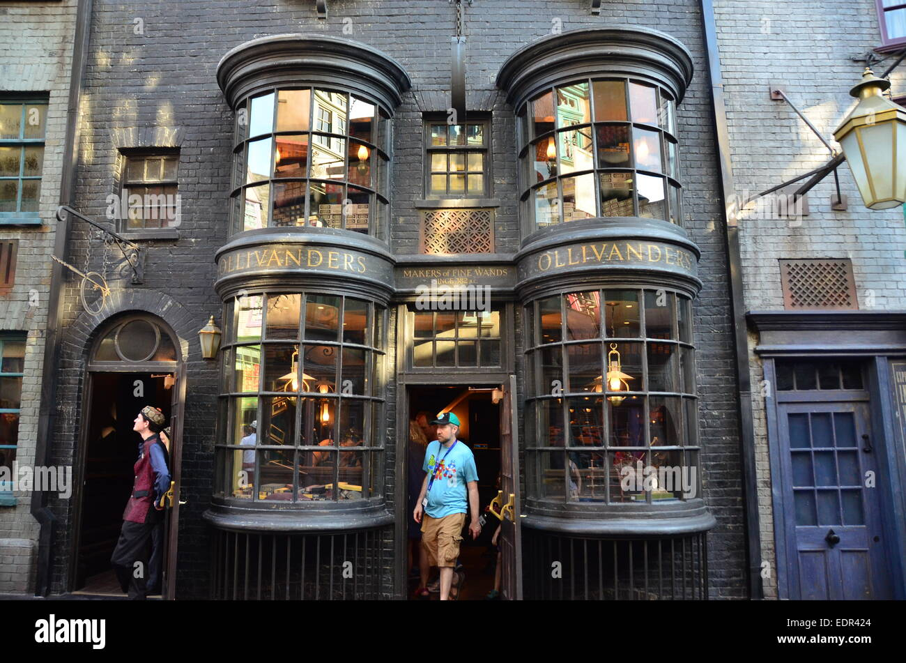 15e30709883 Olivanders in Diagon Alley at the Wizarding World of Harry Potter  expansion