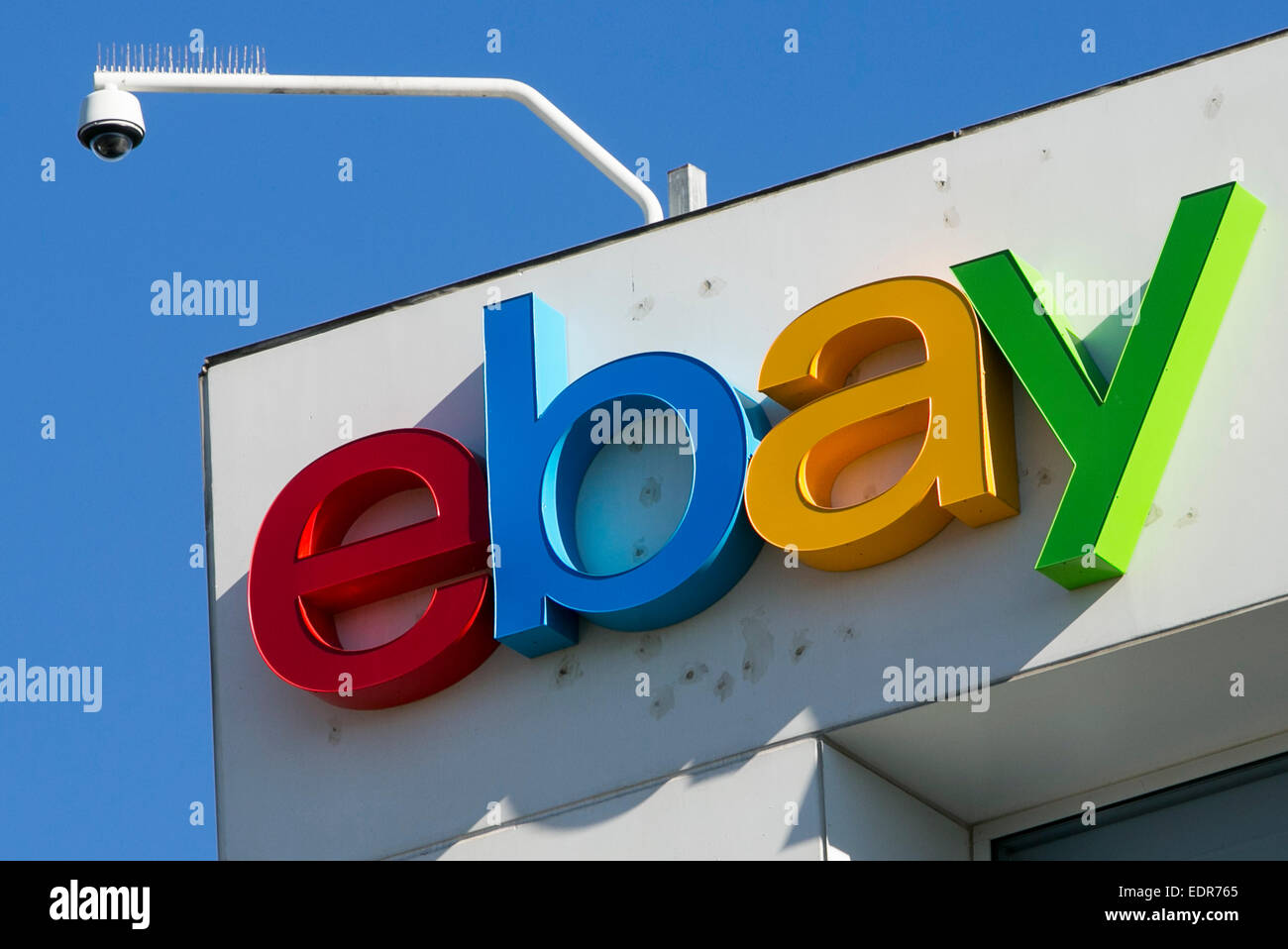 An office building occupied by eBay in San Jose, California. - Stock Image