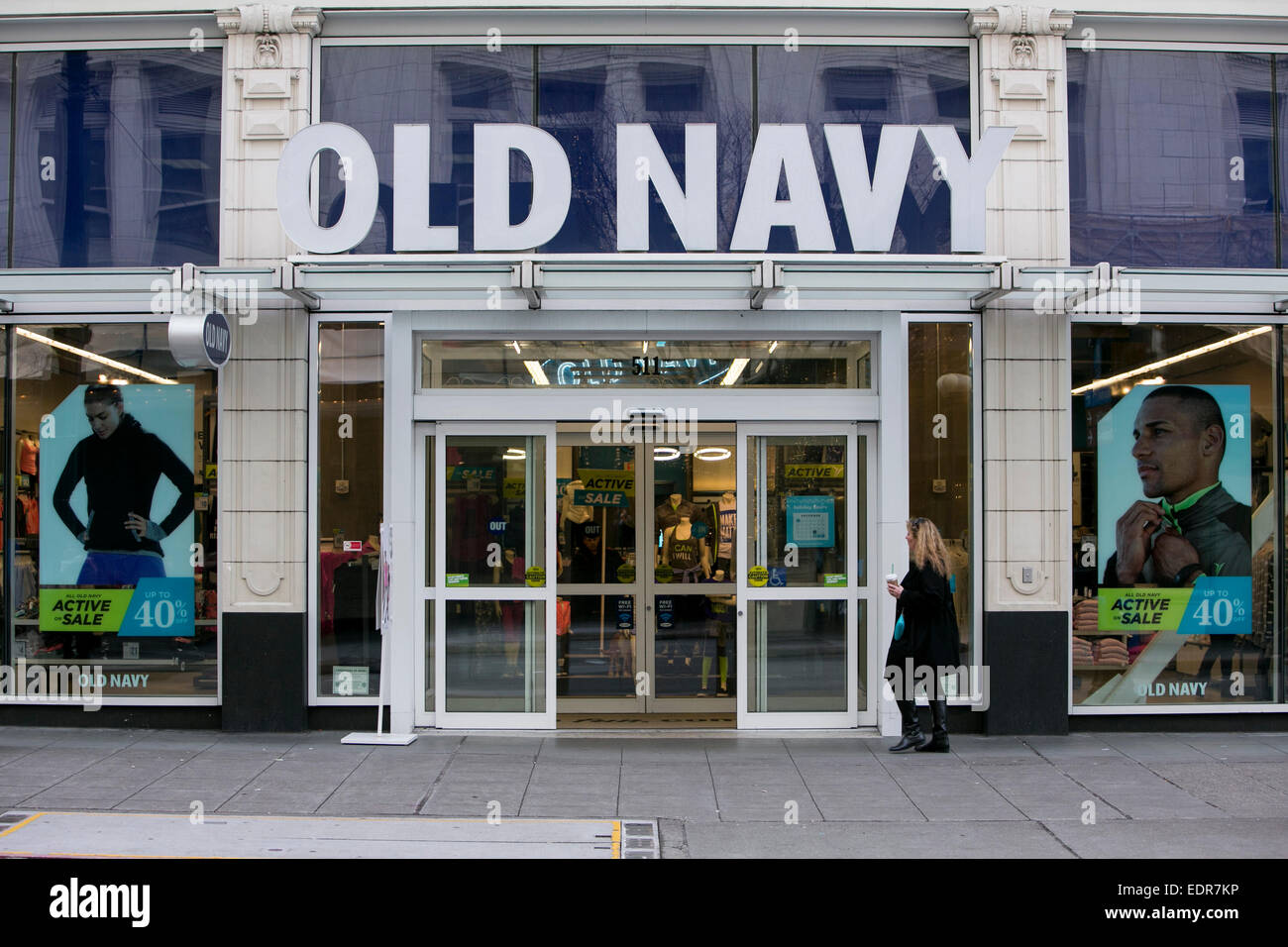 Navy clothes store
