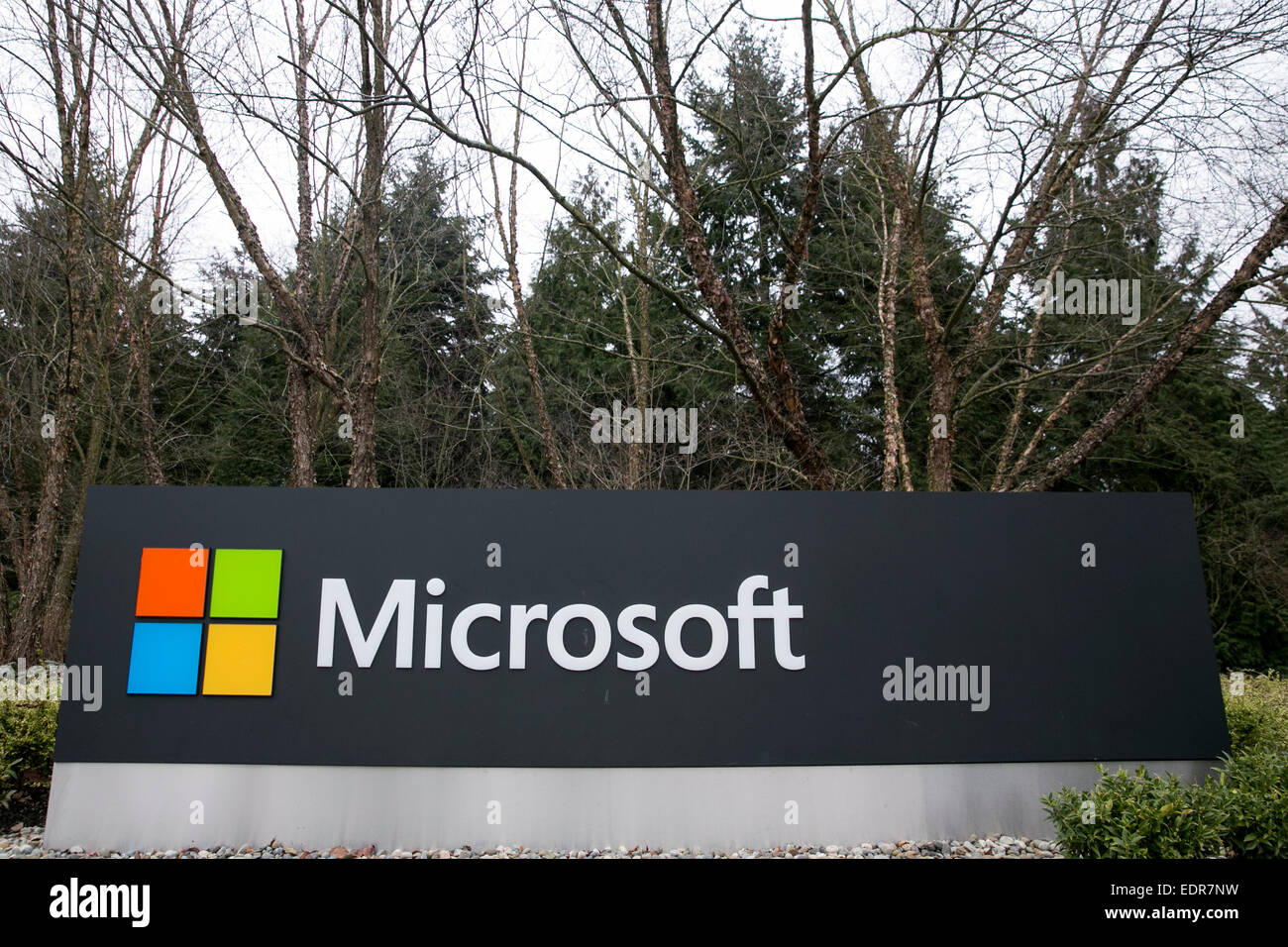 microsoft office redmond wa. A Logo Sign Outside The Headquarters Campus Of Microsoft In Redmond, Washington. - Stock Office Redmond Wa R