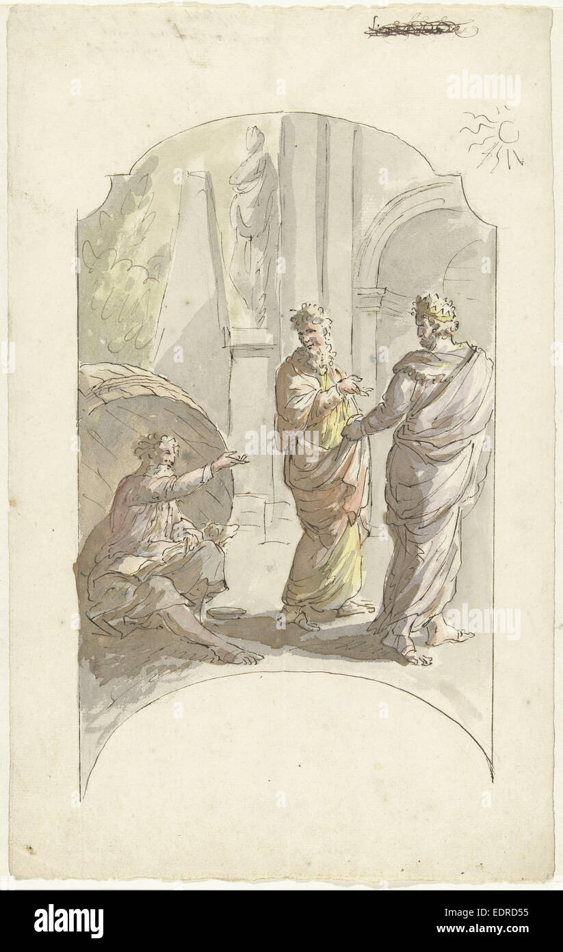 Diogenes And Alexander Stock Photos Diogenes And Alexander