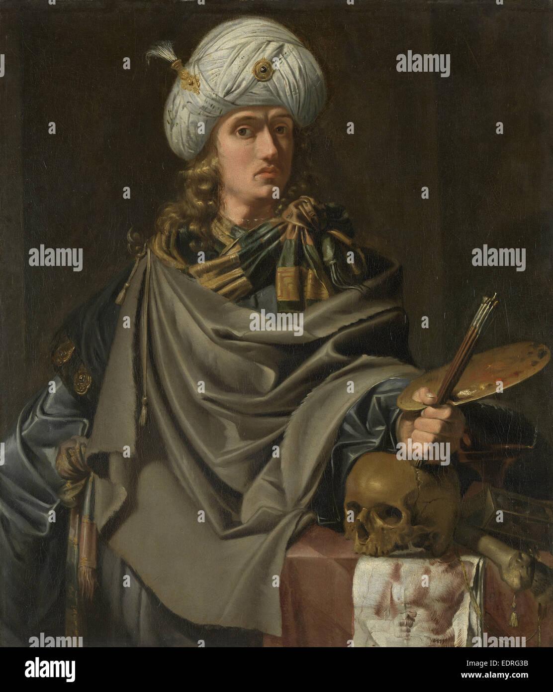 An antique artist, attributed to Johannes van Swinderen, c. 1628 - c. 1636 - Stock Image