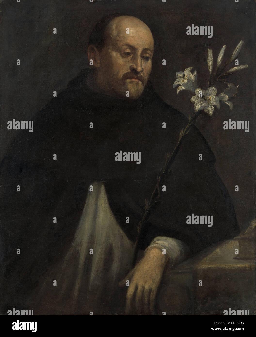 Saint Dominic, Anonymous, 1550 - 1600 - Stock Image