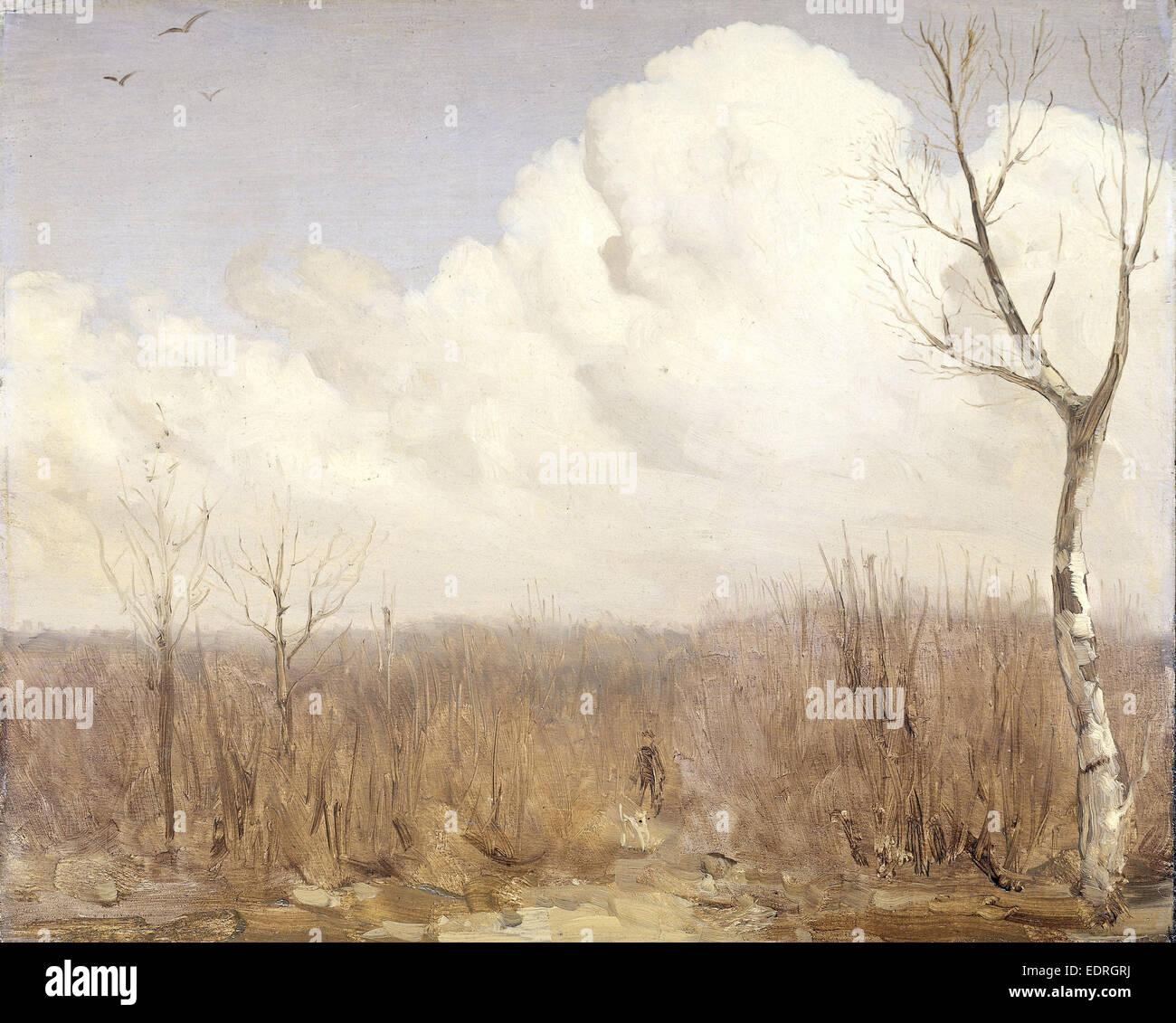 Autumn day, Gerrit Willem Dijsselhof, c. 1895 - c. 1915 - Stock Image