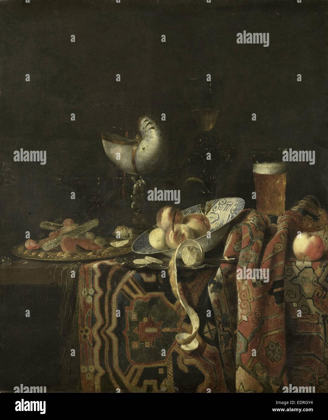 Still Life, Georg Hainz, 1666 - 1700 - Stock Image