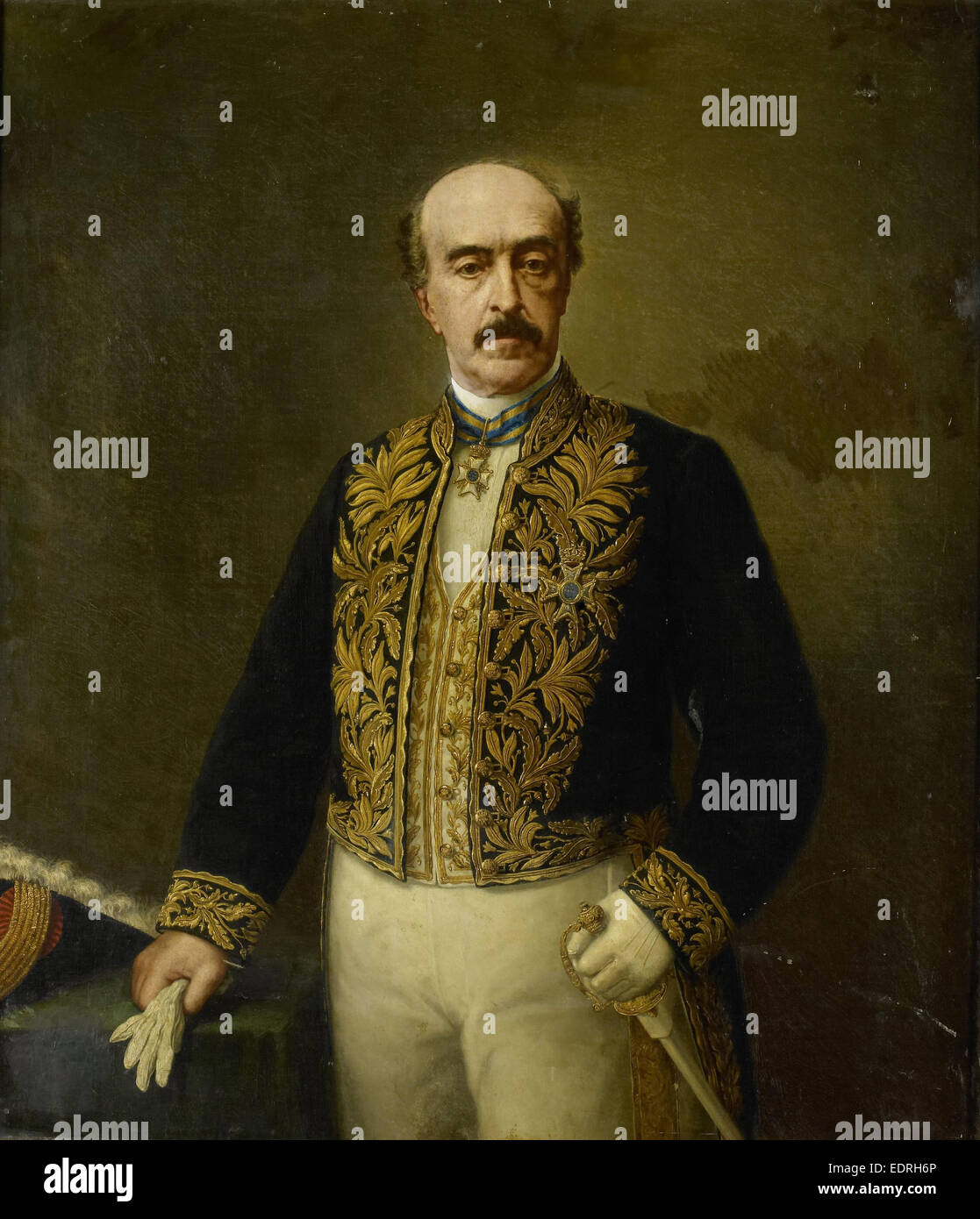 Otto van Rees (1823-92). Gouverneur-generaal, Governor-General (1884-88), Anonymous, after 1884 - c. 1899 - Stock Image
