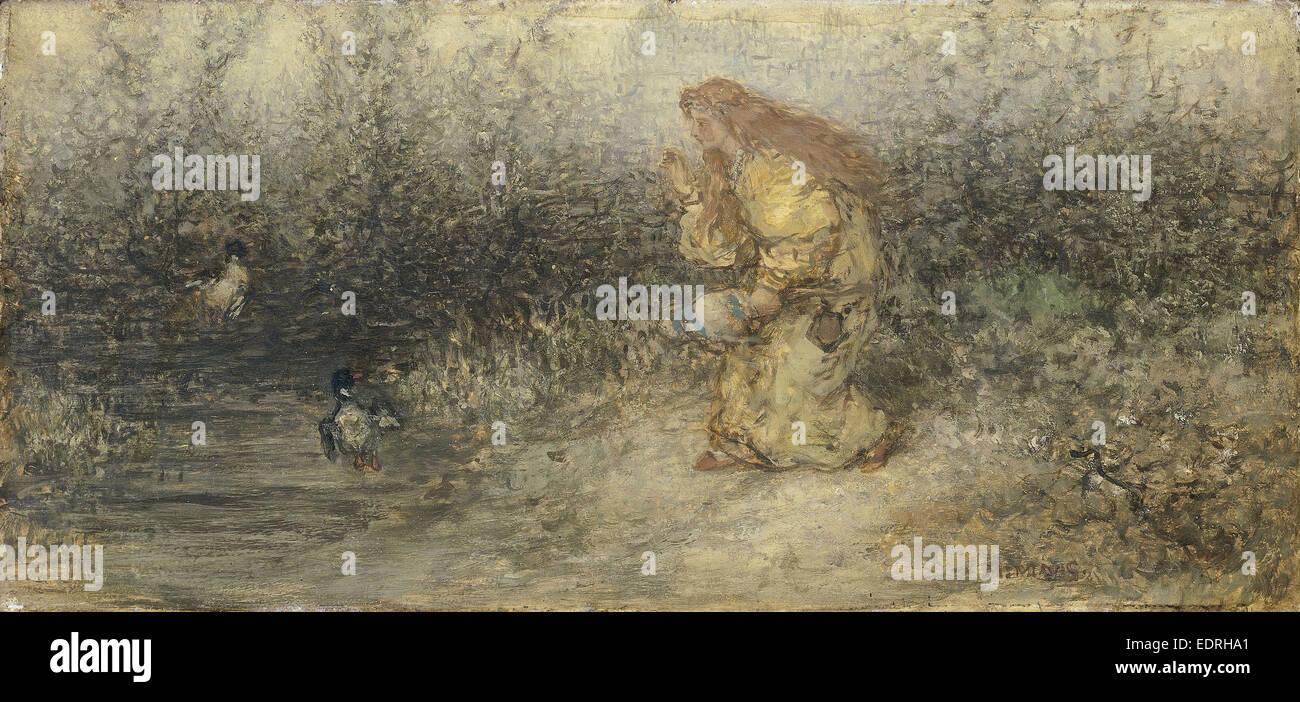 Fairytale, Matthijs Maris, c. 1877 - Stock Image
