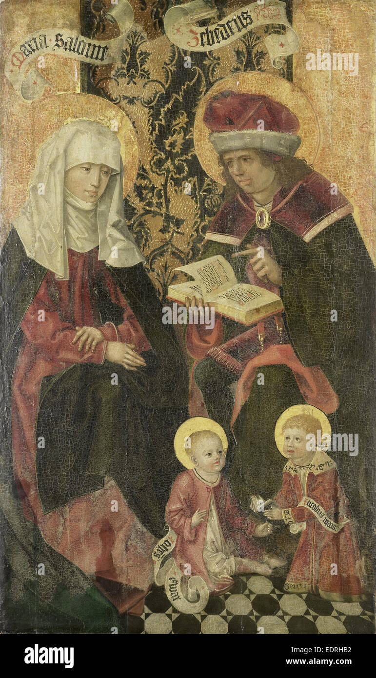 The Family of Zebedee, Anonymous, 1480 - 1599 - Stock Image
