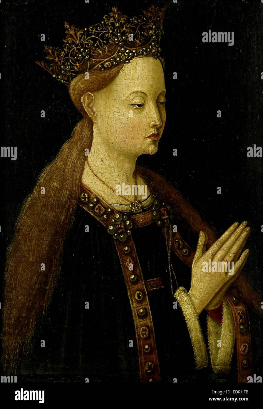 The Virgin, Anonymous, c. 1500 - Stock Image