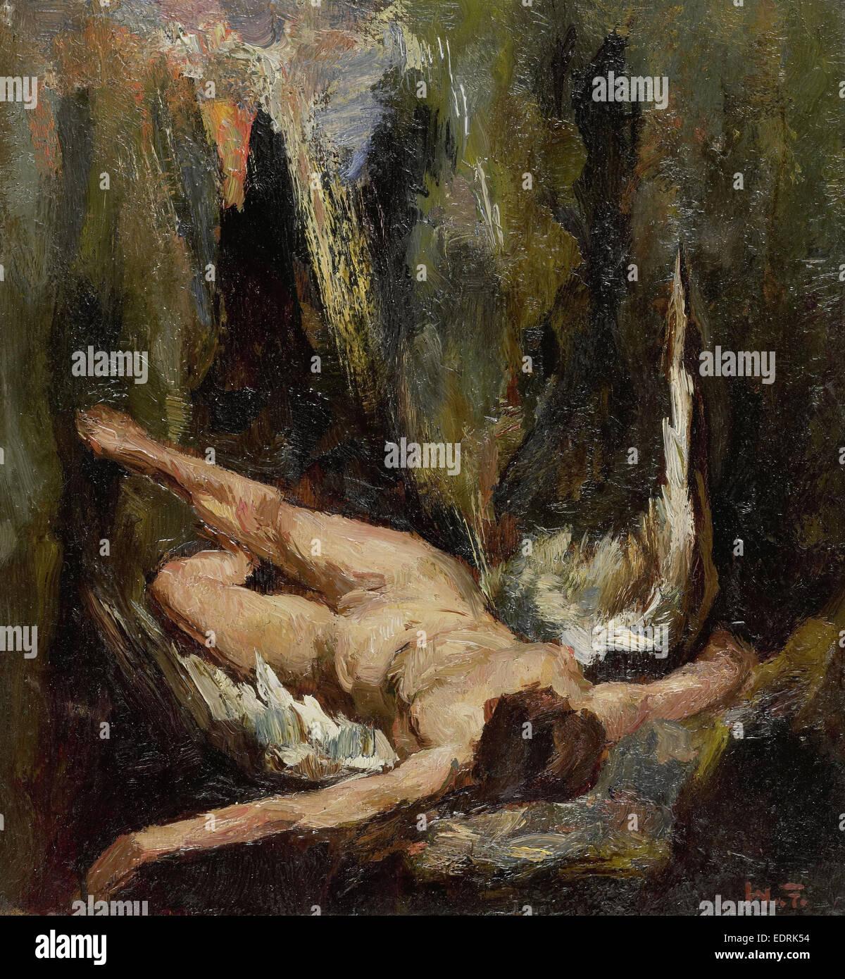 The fallen angel, Willem de Zwart, 1885 - 1931 - Stock Image