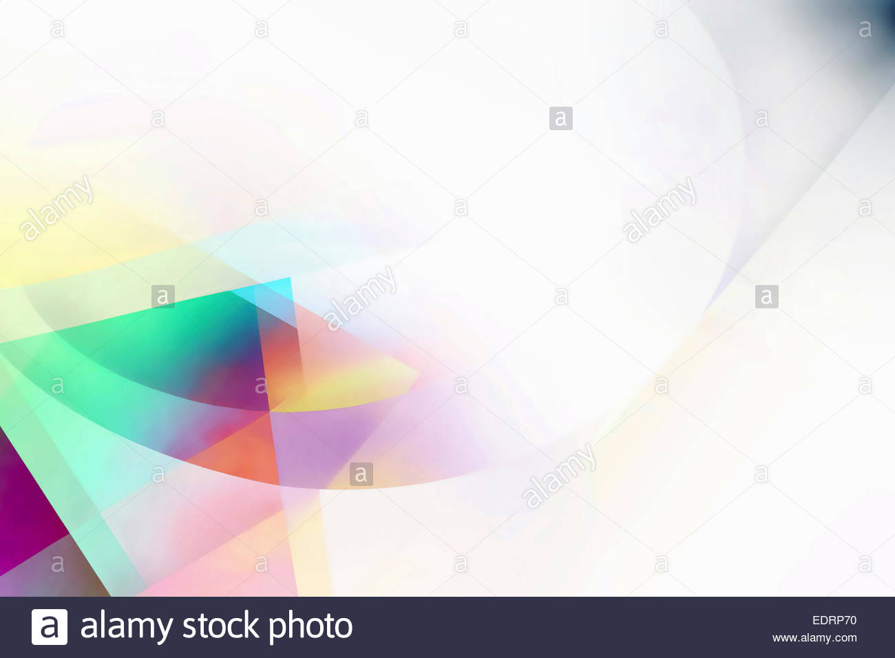 Abstract pastel and white backgrounds pattern - Stock Image