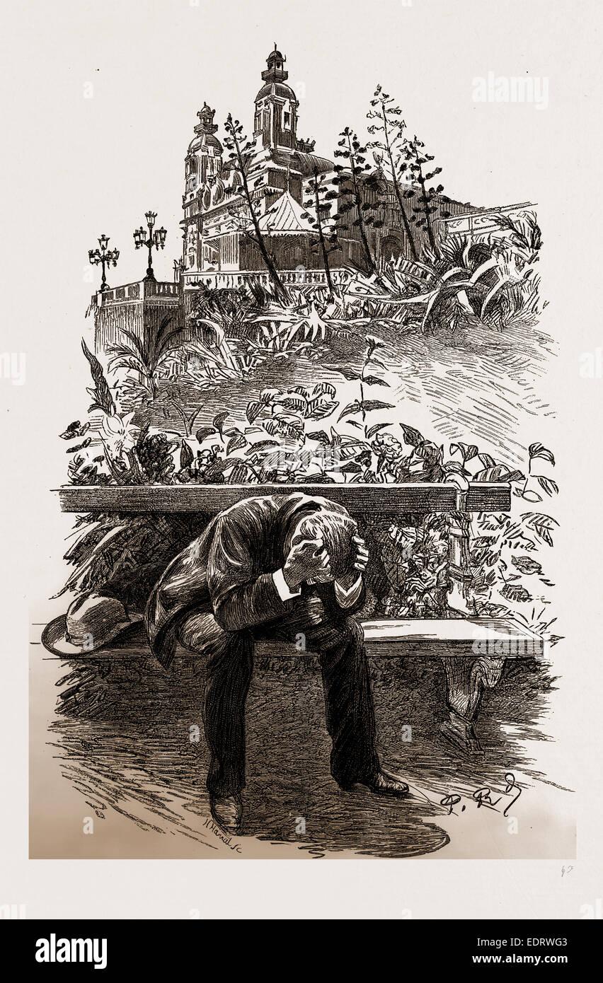 DESPAIR, 1886 - Stock Image
