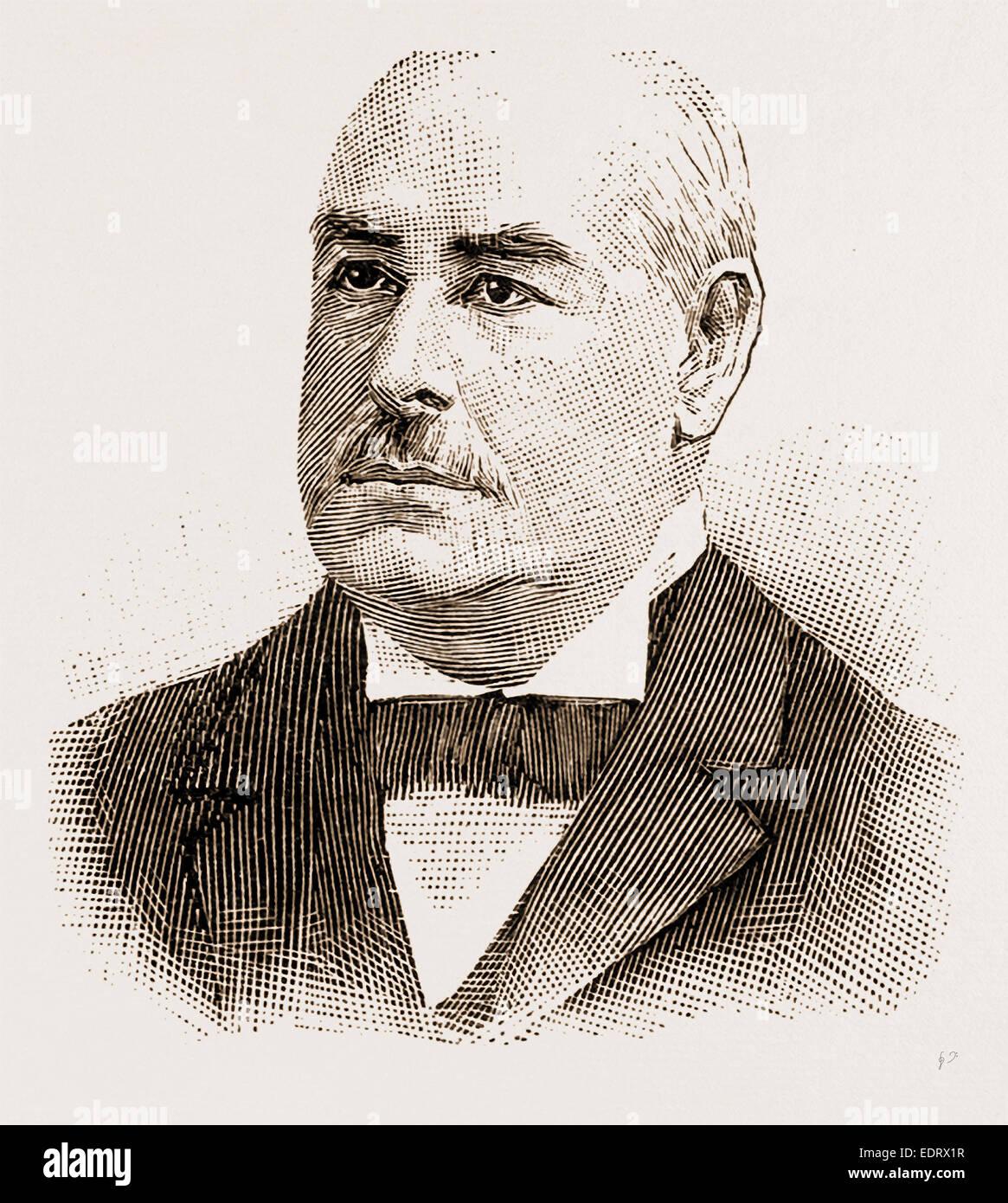 Mk. D. M. DICKENSON MR. JUSTICE PUTNAM MR. CHANDLER:P. ANDERSON MR. JUSTICE KING MR. FREDERICK PETERS, Q.C. - Stock Image
