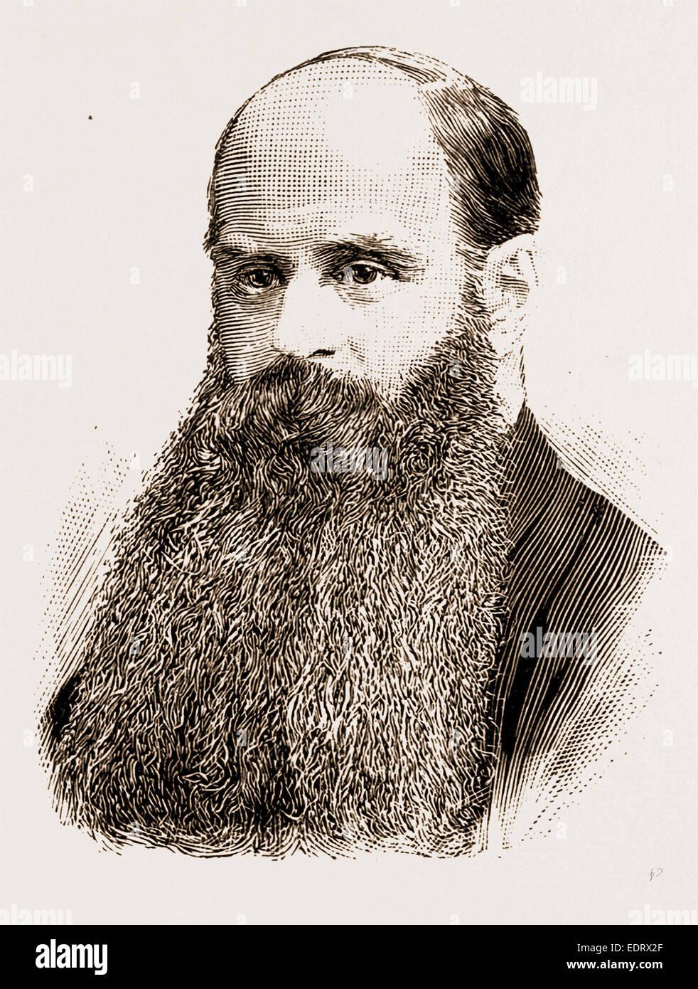 SIR JOHN KENNAWAY, BT., M.P. Stock Photo