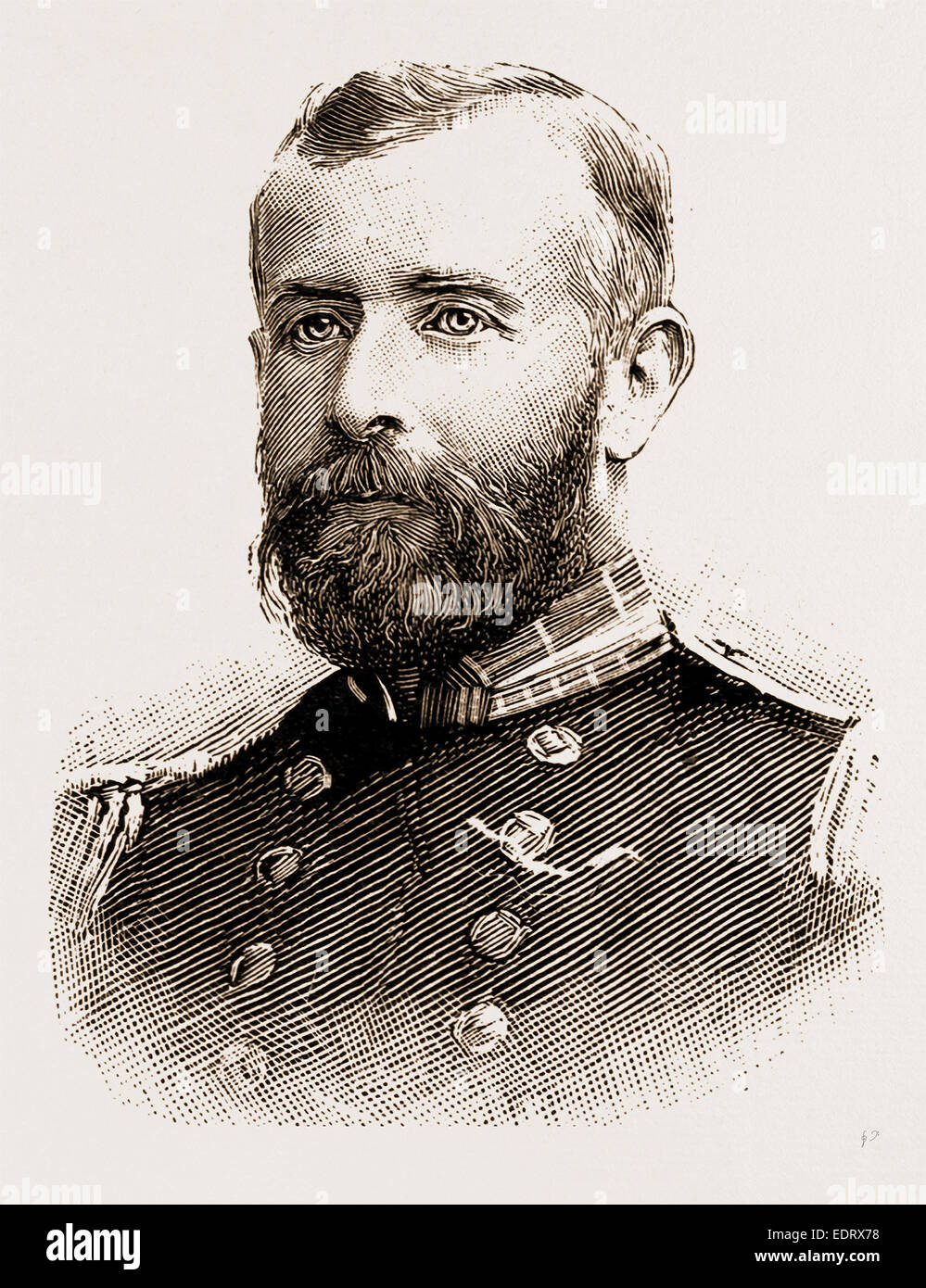 THE LATE COMMANDER PRITCHARD - Stock Image