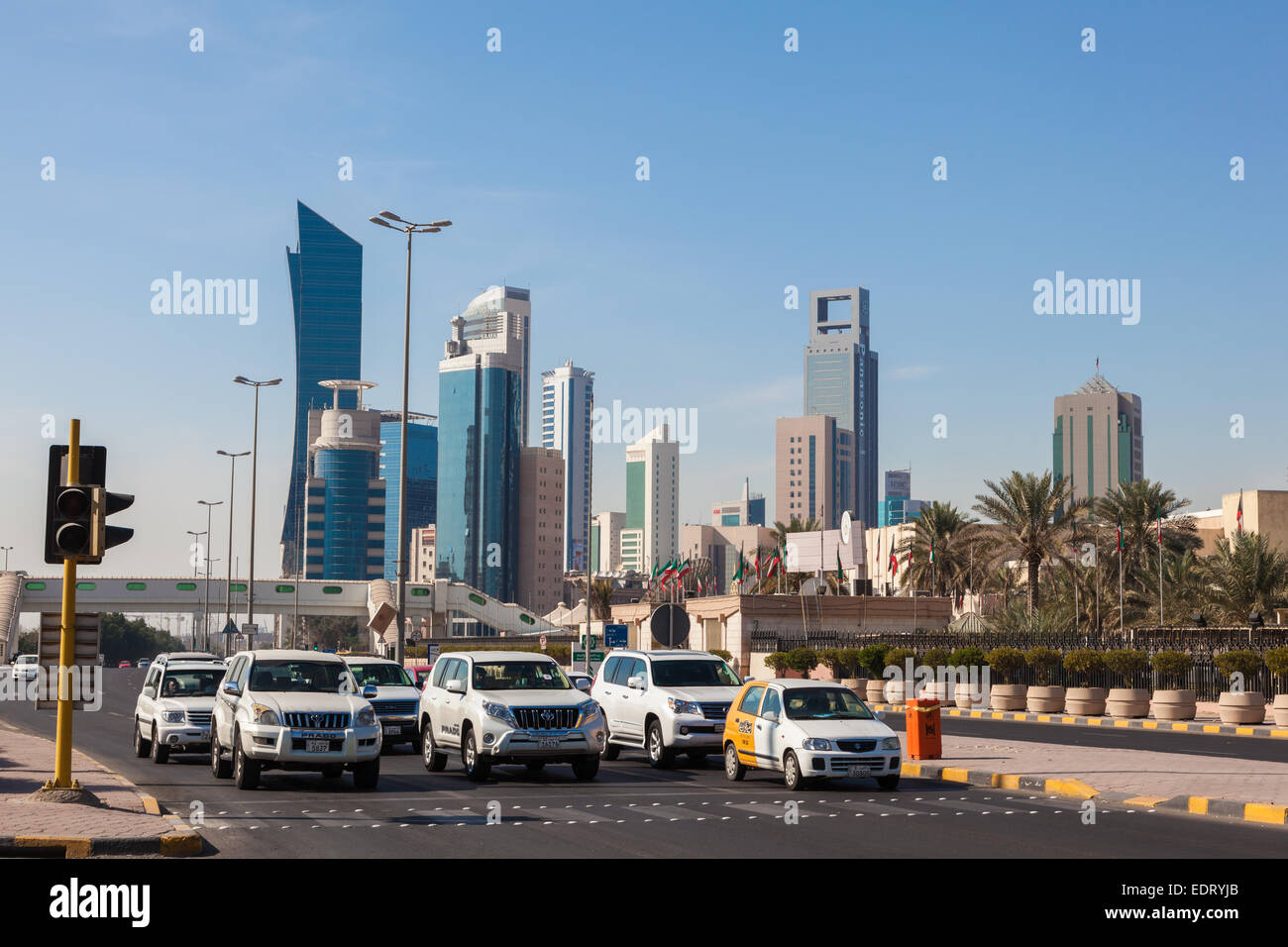 Kuwait City Street Stock Photos & Kuwait City Street Stock Images