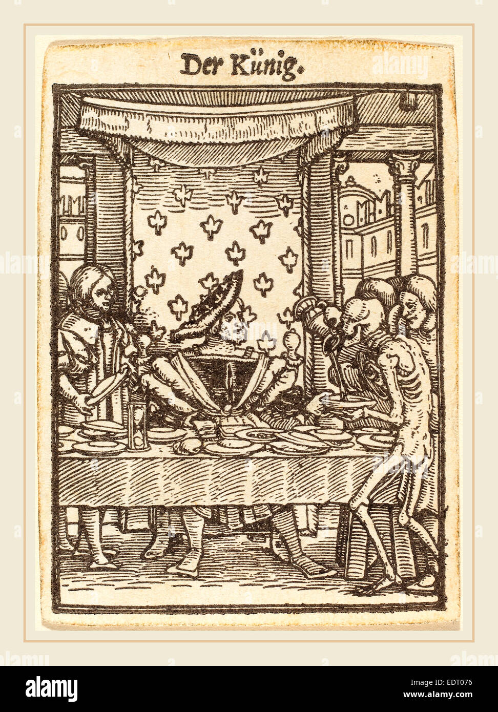 men of letters woodcut by hans holbein the younger 1497 1498 1543 stock 1498