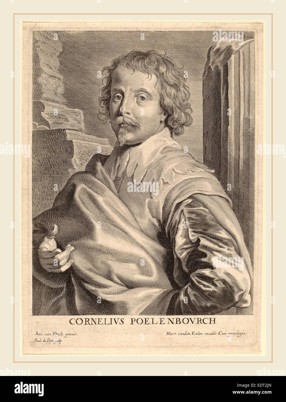 Corn Van Dijck.Cornelis Van Poelenburgh Stock Photos Cornelis Van Poelenburgh