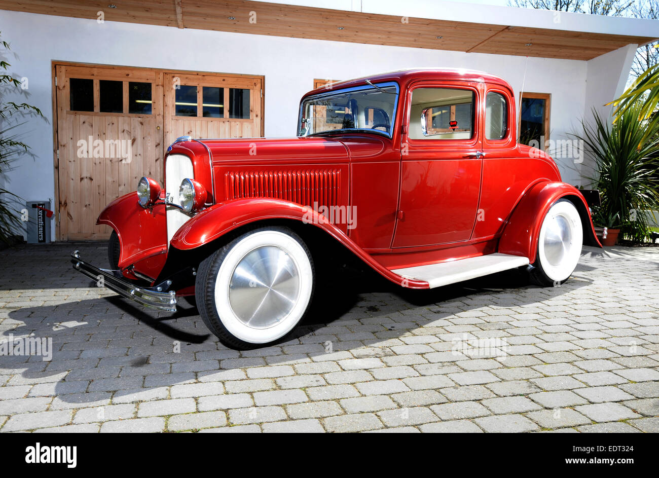 1930s ford cars built as hot rods in the 1940s or 50s stock photo 77361260 alamy. Black Bedroom Furniture Sets. Home Design Ideas